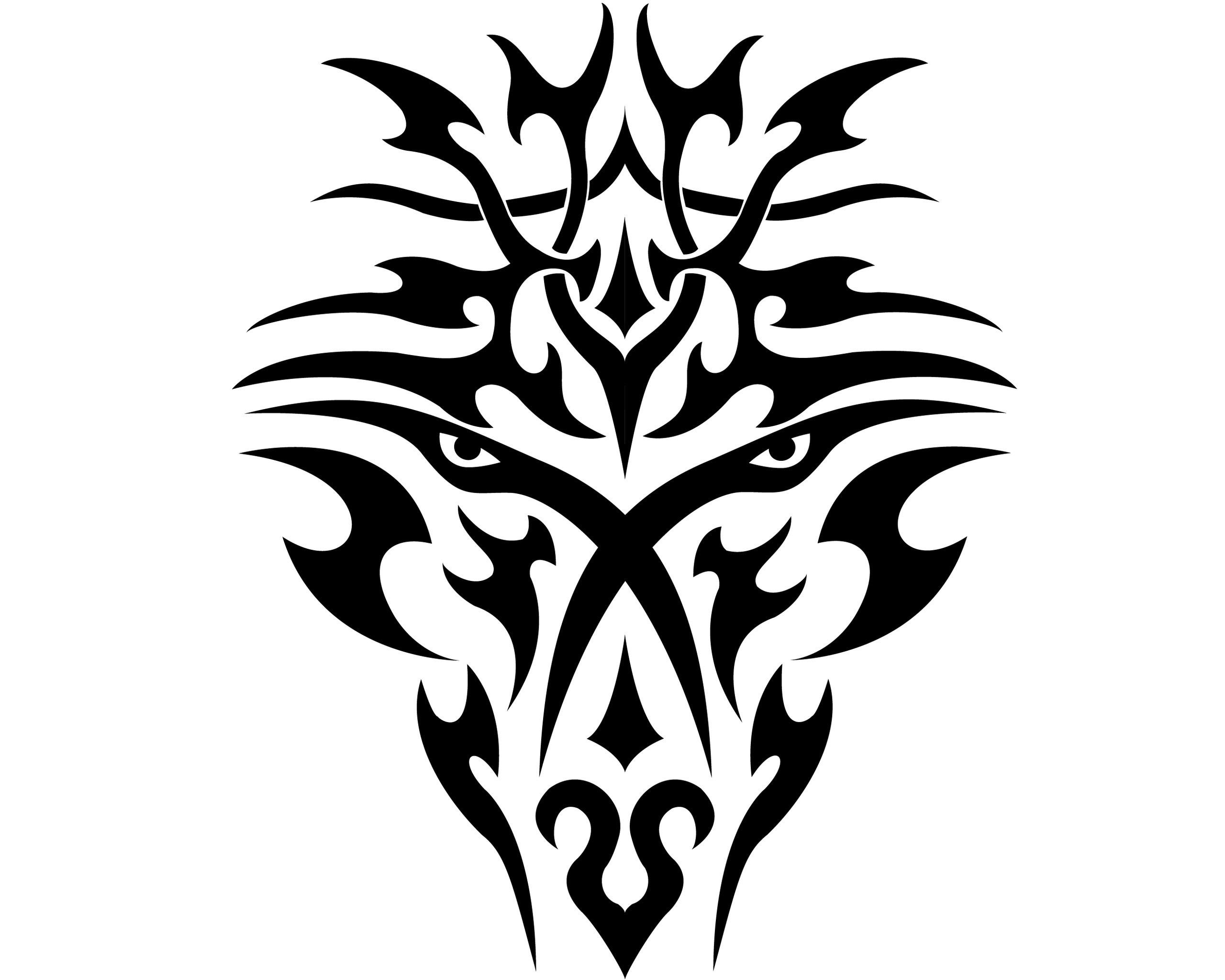 Res: 2560x2048, Tribal Dragon Tattoos