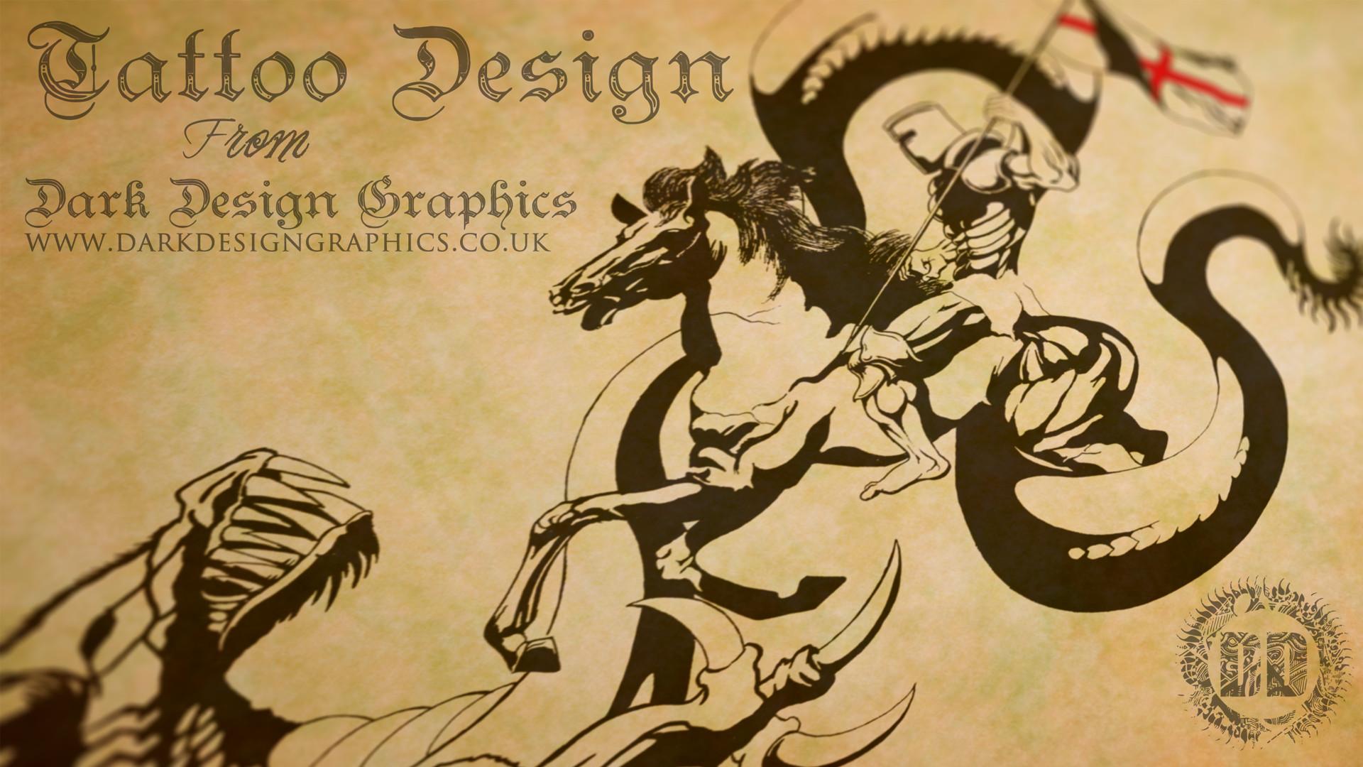 Res: 1920x1080, ... 1920×1080. Saint George Wallpaper from Dark Design Graphics