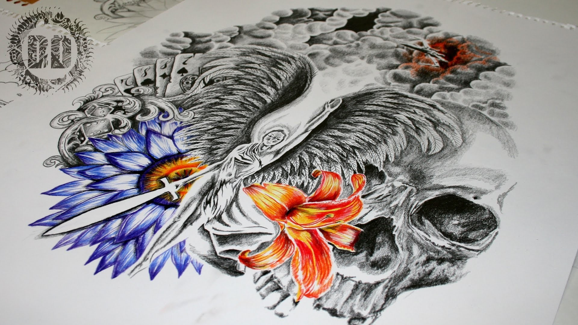 Res: 1920x1080, Hannya Tattoo Design Wallpaper - Android Apps on Google Play