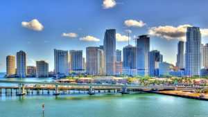 Miami Skyline wallpapers