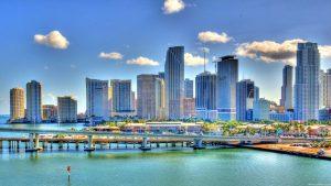 Miami Skyline wallpapers