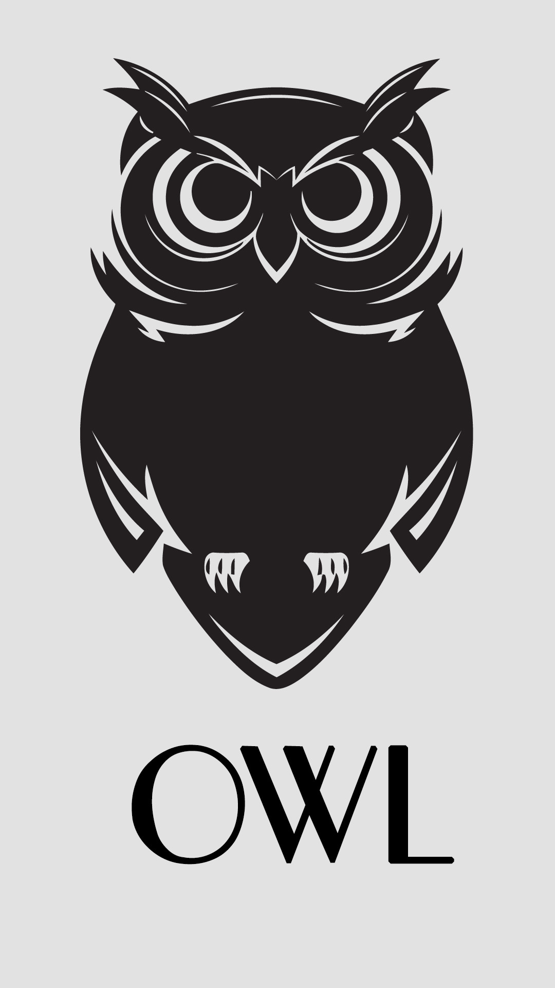 Res: 1080x1920, Cartoon Owl Black And White Wallpapers For Android Is 4K Wallpaper