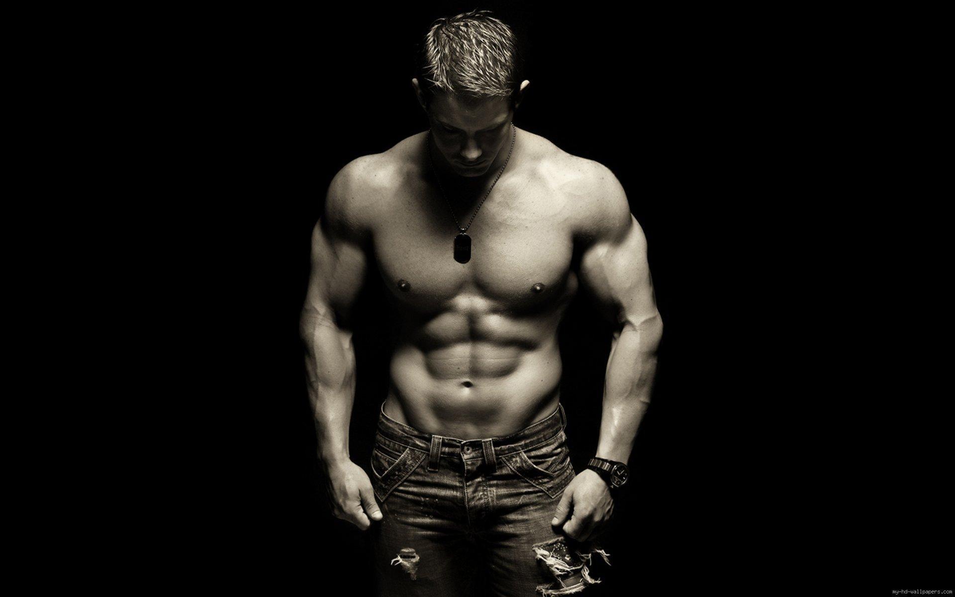 Res: 1920x1200,  Sexy Mann Körper .