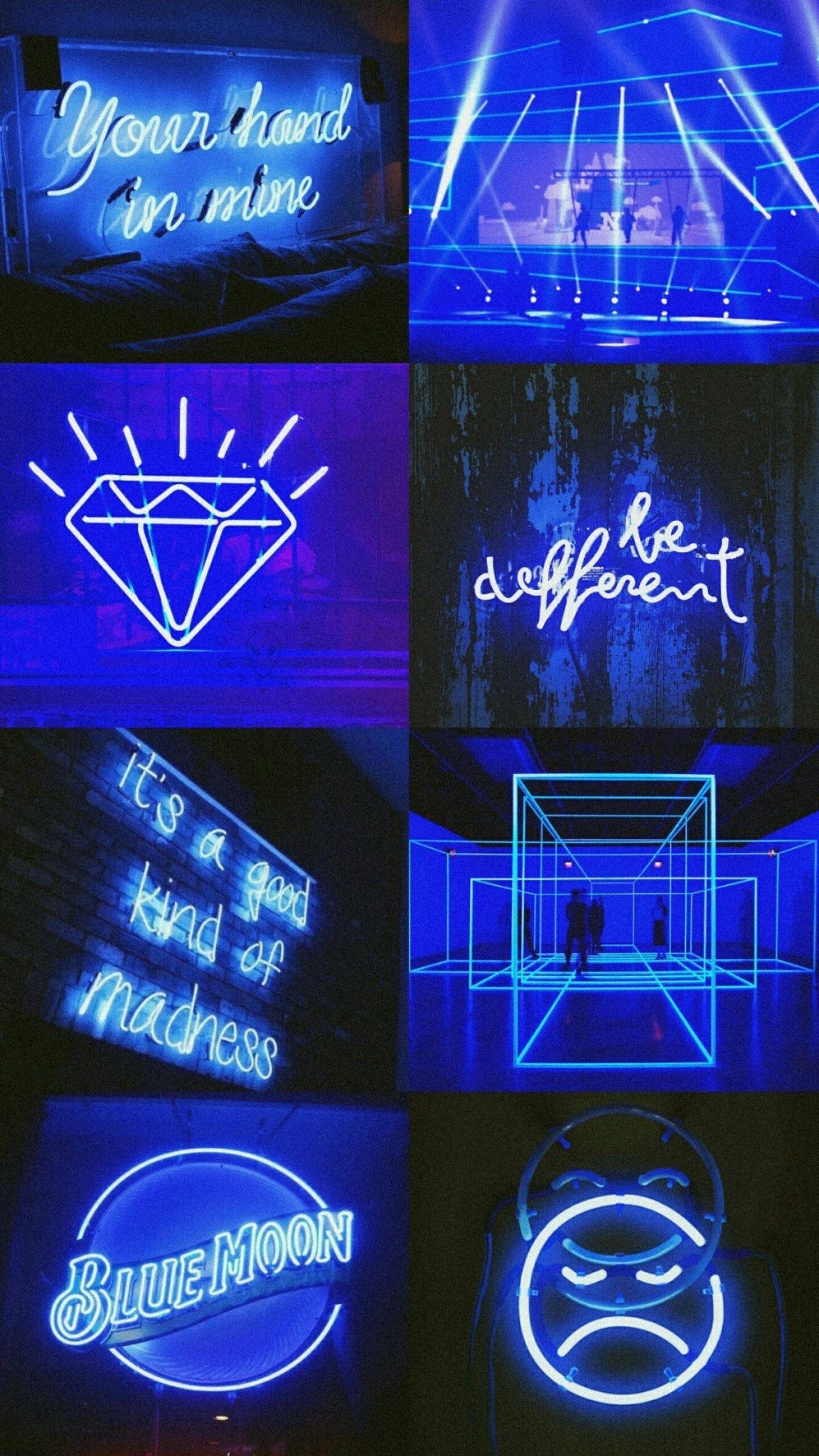 Blue Neon Wallpapers Hd Wallpaper Collections 4kwallpaper Wiki