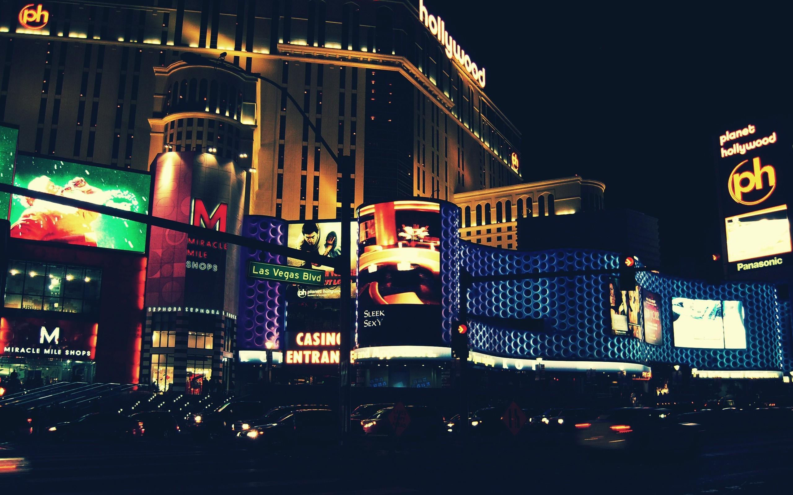 Res: 2560x1600, wallpaper city lights