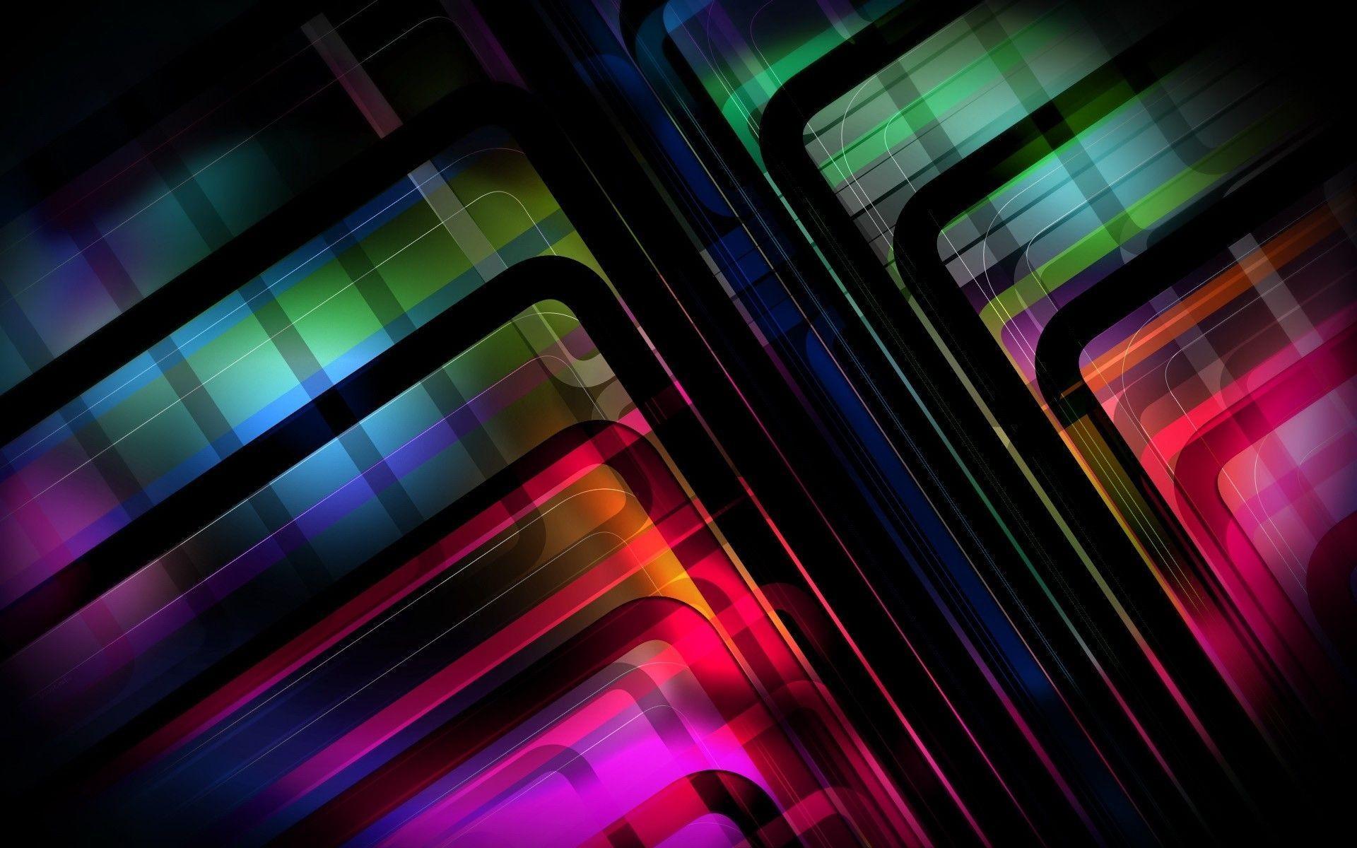 Res: 1920x1200, Neon Lights Wallpaper