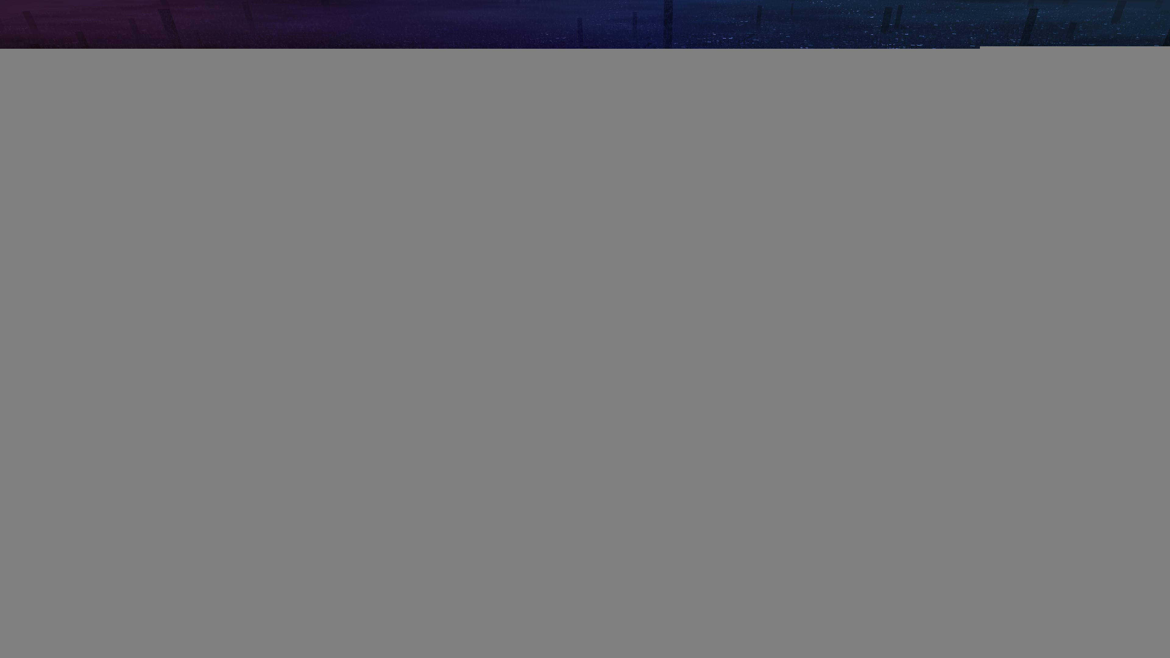 Res: 3840x2160, ASUS ROG City Neon Lights Wallpaper