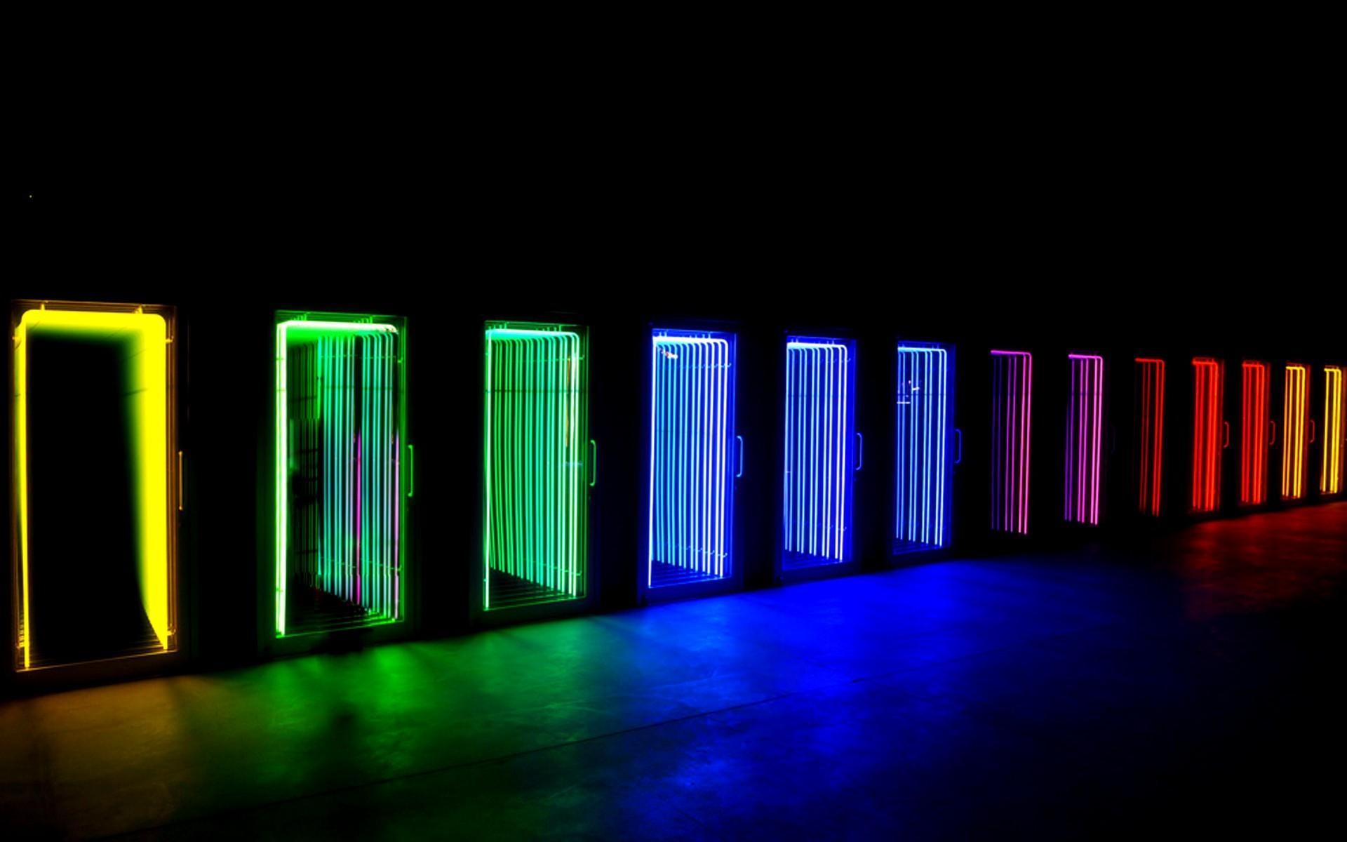 Res: 1920x1200, Neon Lights Wallpaper 10 - 1920 X 1200