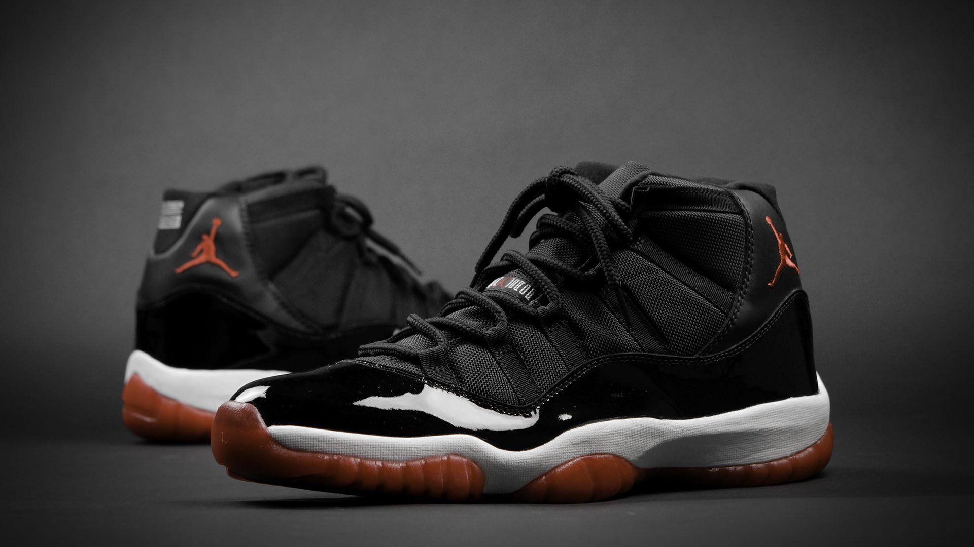 "Res: 1920x1080, Weekly Wallpaper: Air Jordan 11 ""Playoffs"" ..."