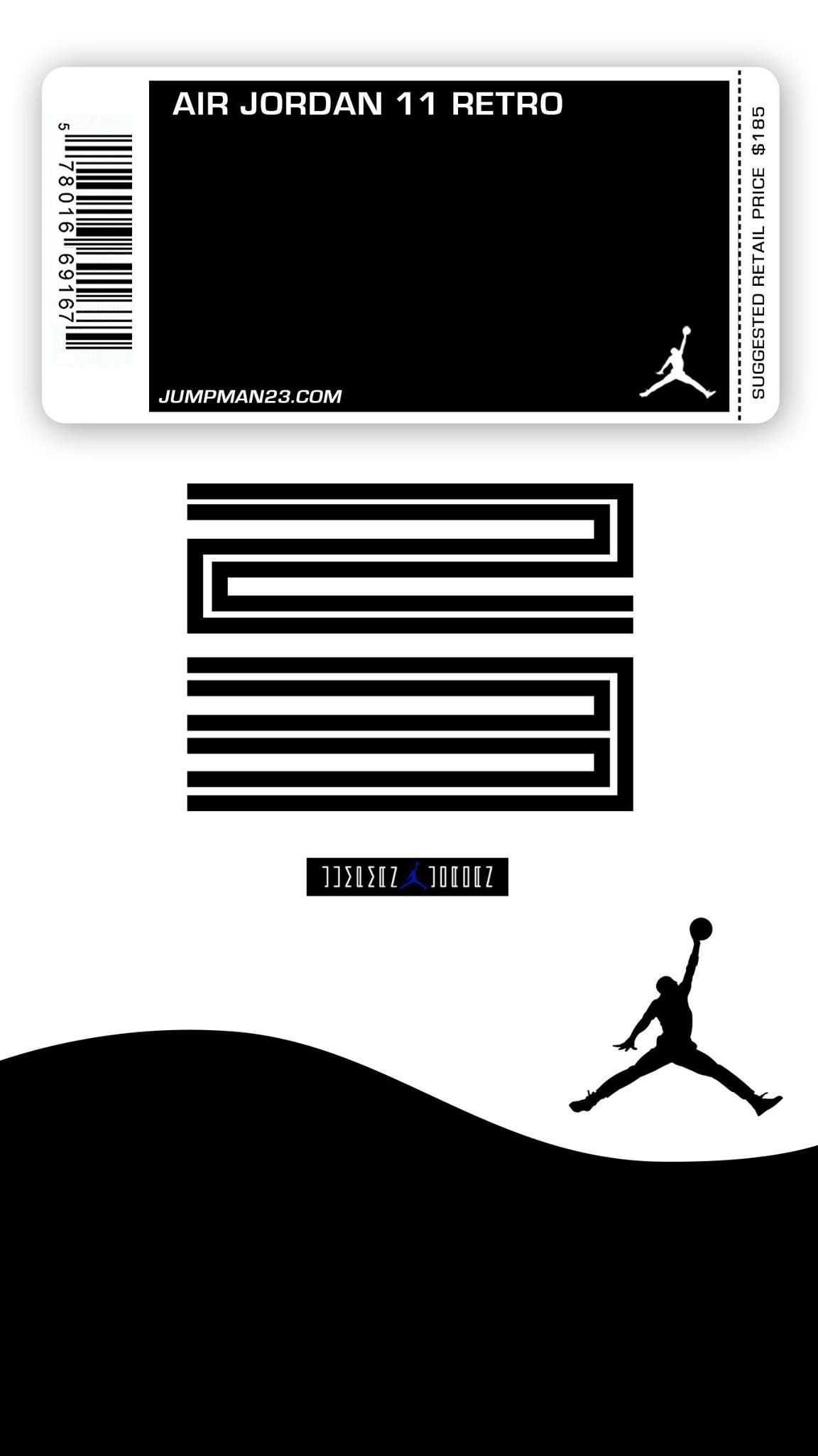 Res: 1152x2048, Jordan 11 concords mobile wallpaper