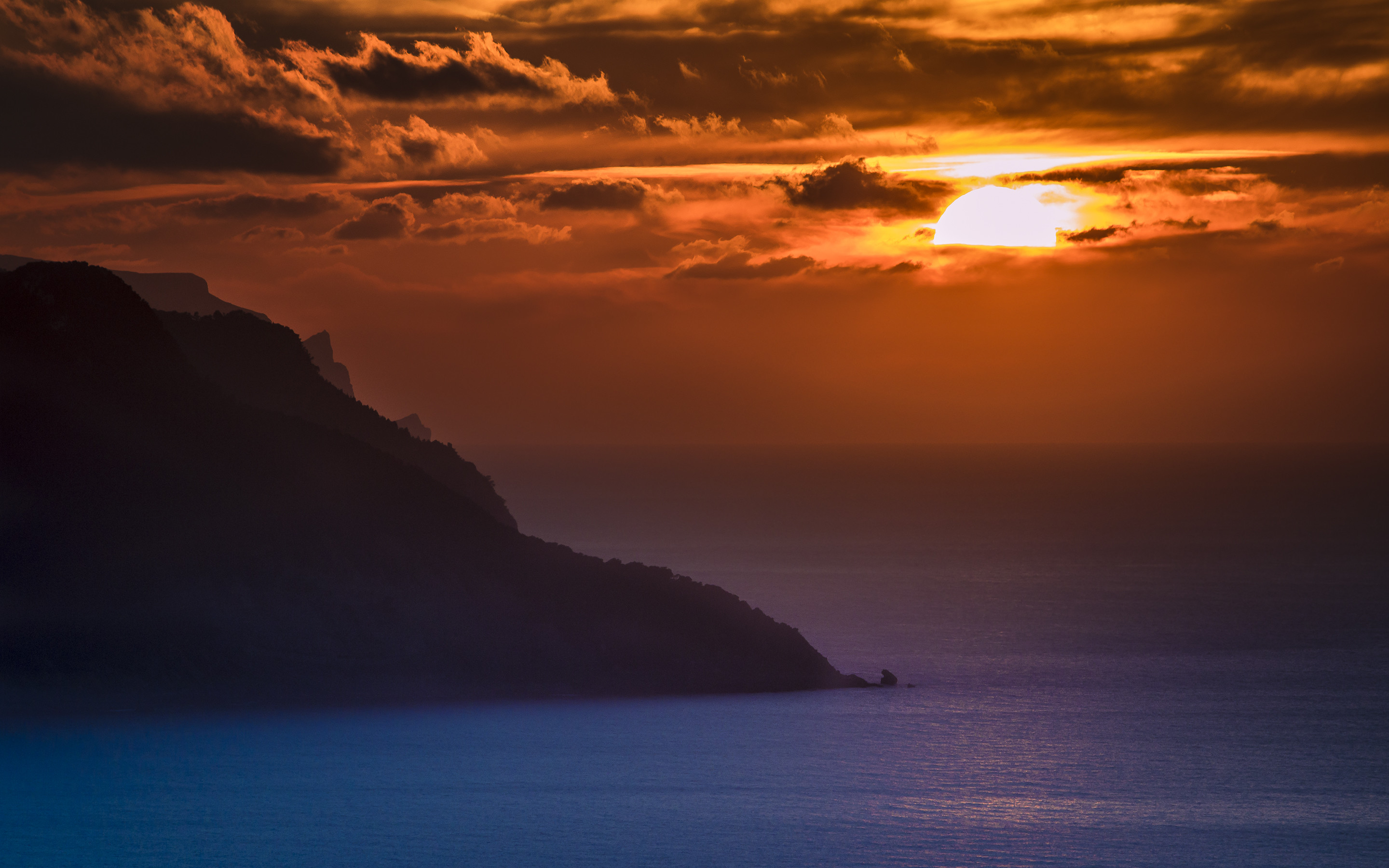 Res: 2880x1800, Author: Emmanuel Iarussi. Tags: sunset Ocean