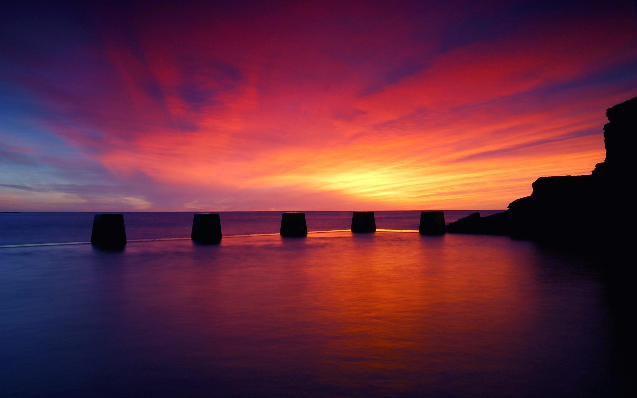 Res: 2560x1600, ---ocean-sunset-wallpapers-5039