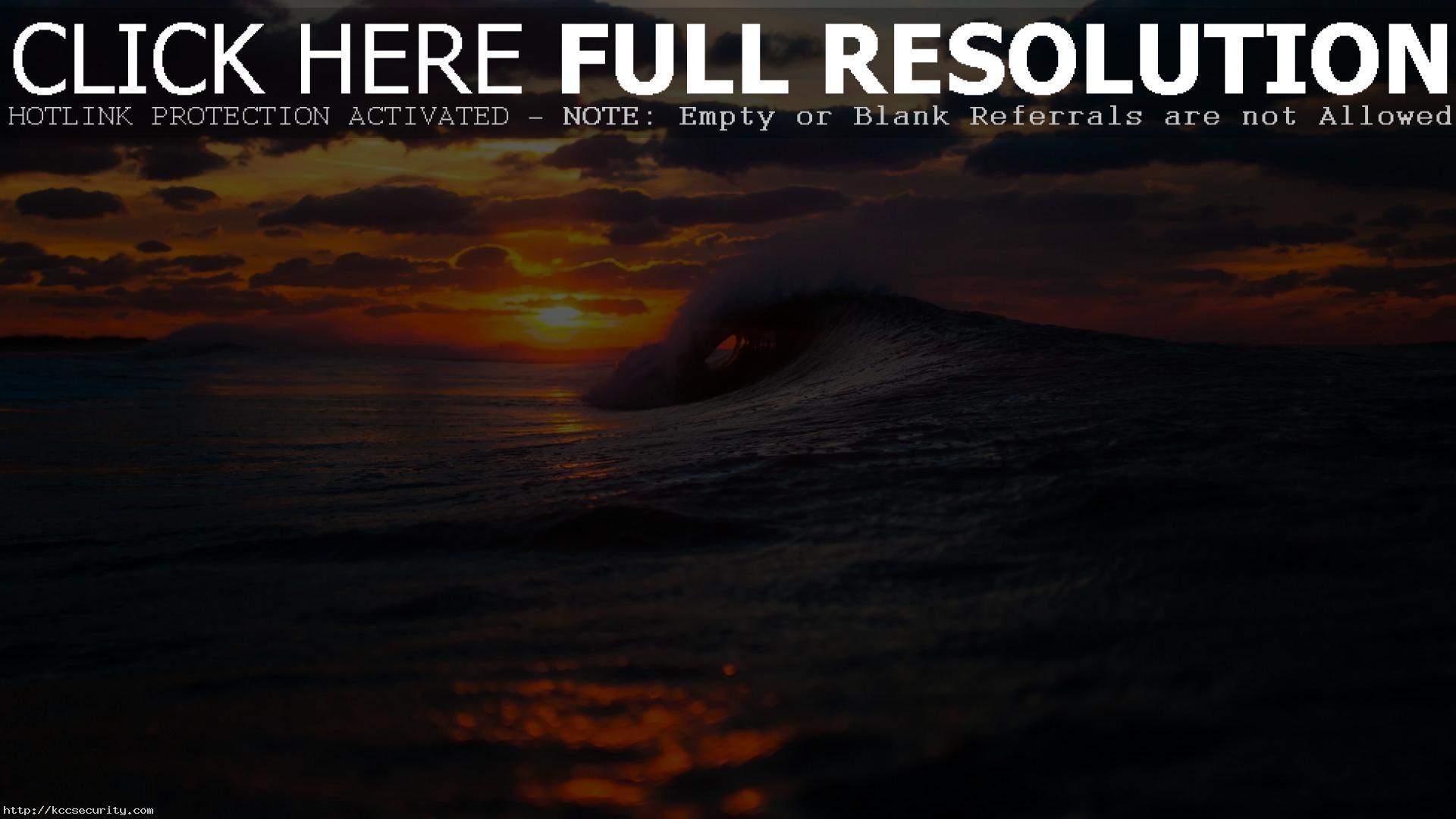 Res: 1920x1080, Ocean Sunset Wallpapers 35974