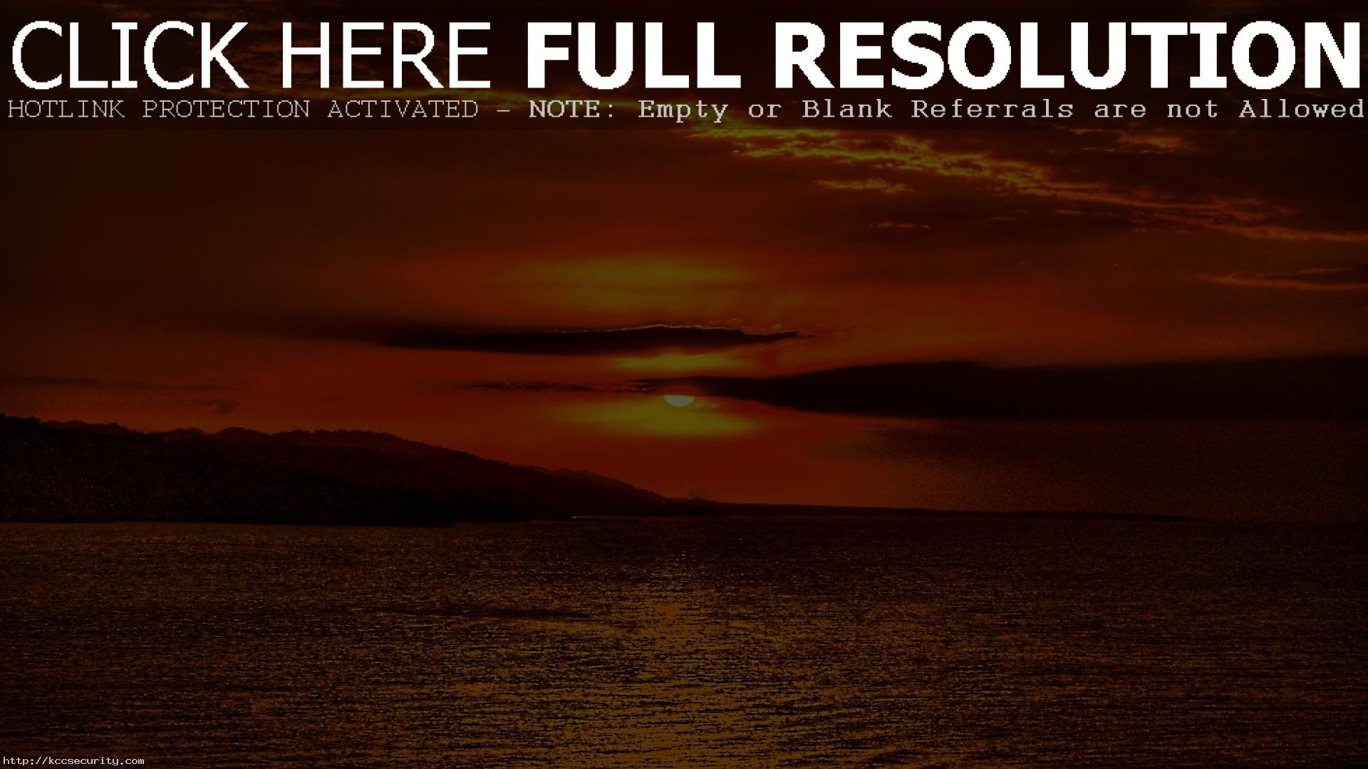 Res: 1920x1080, Ocean Sunset Wallpapers 35978