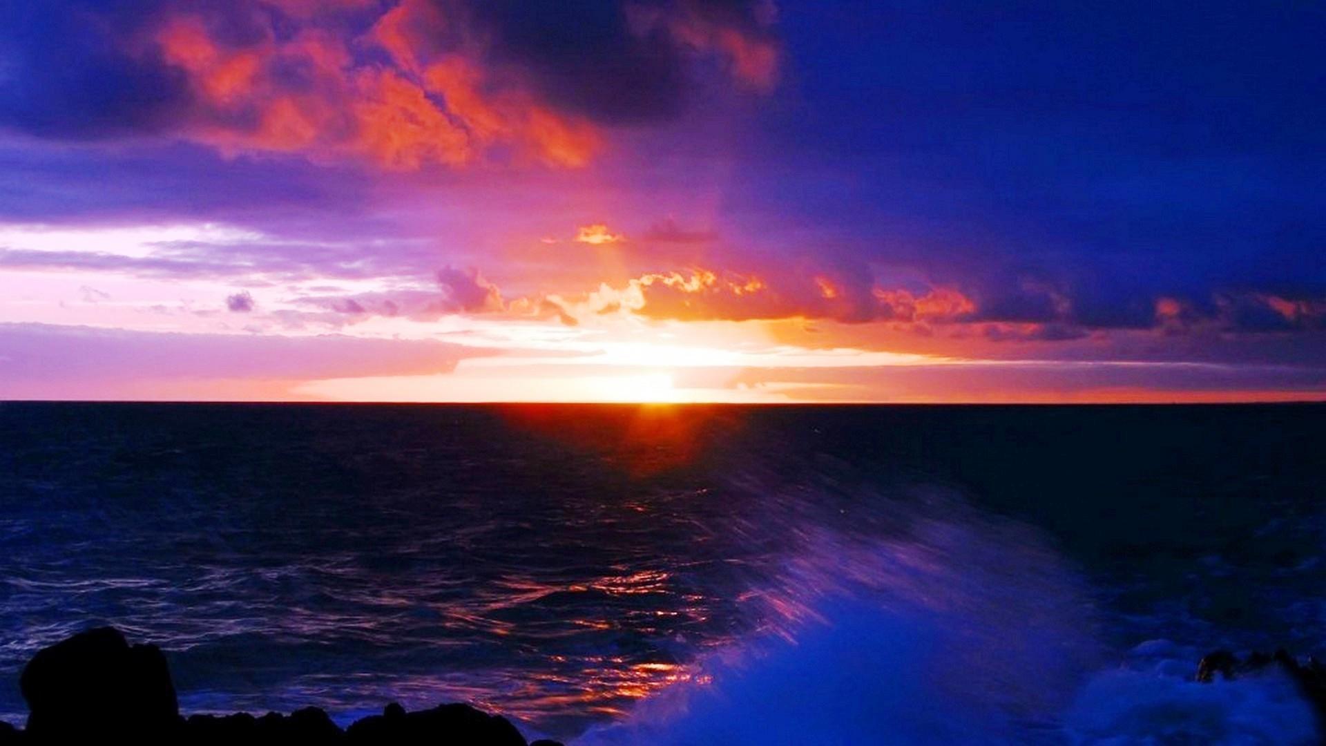 Res: 1920x1080, Download Link : Link Image Download. View Original Images : Dark HD Sea  Sunset Wallpaper Landscape