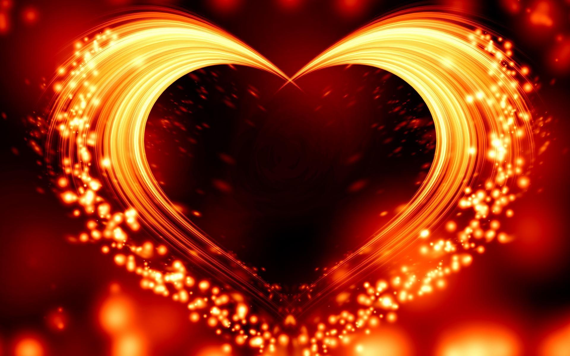 Res: 1920x1200, Love Heart Wallpaper