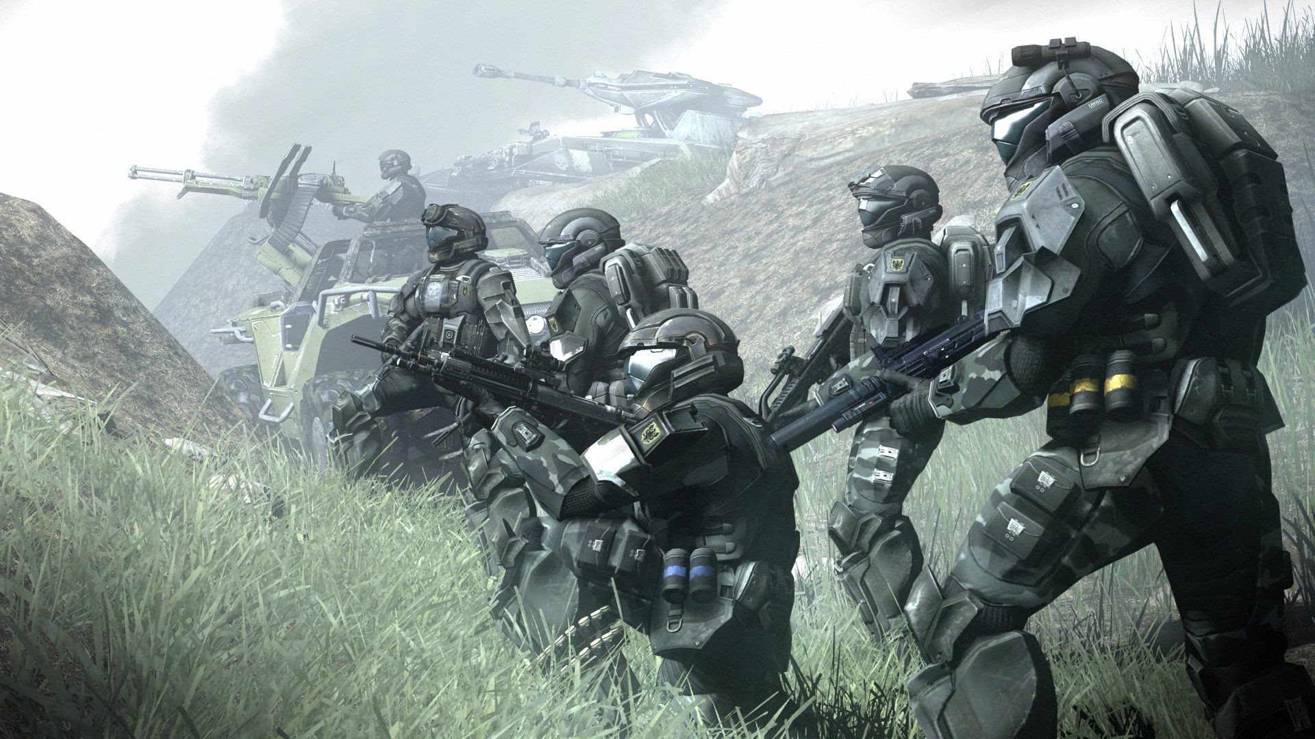 Res: 1920x1080, Video Game Halo 3: ODST Halo Soldier Wallpaper