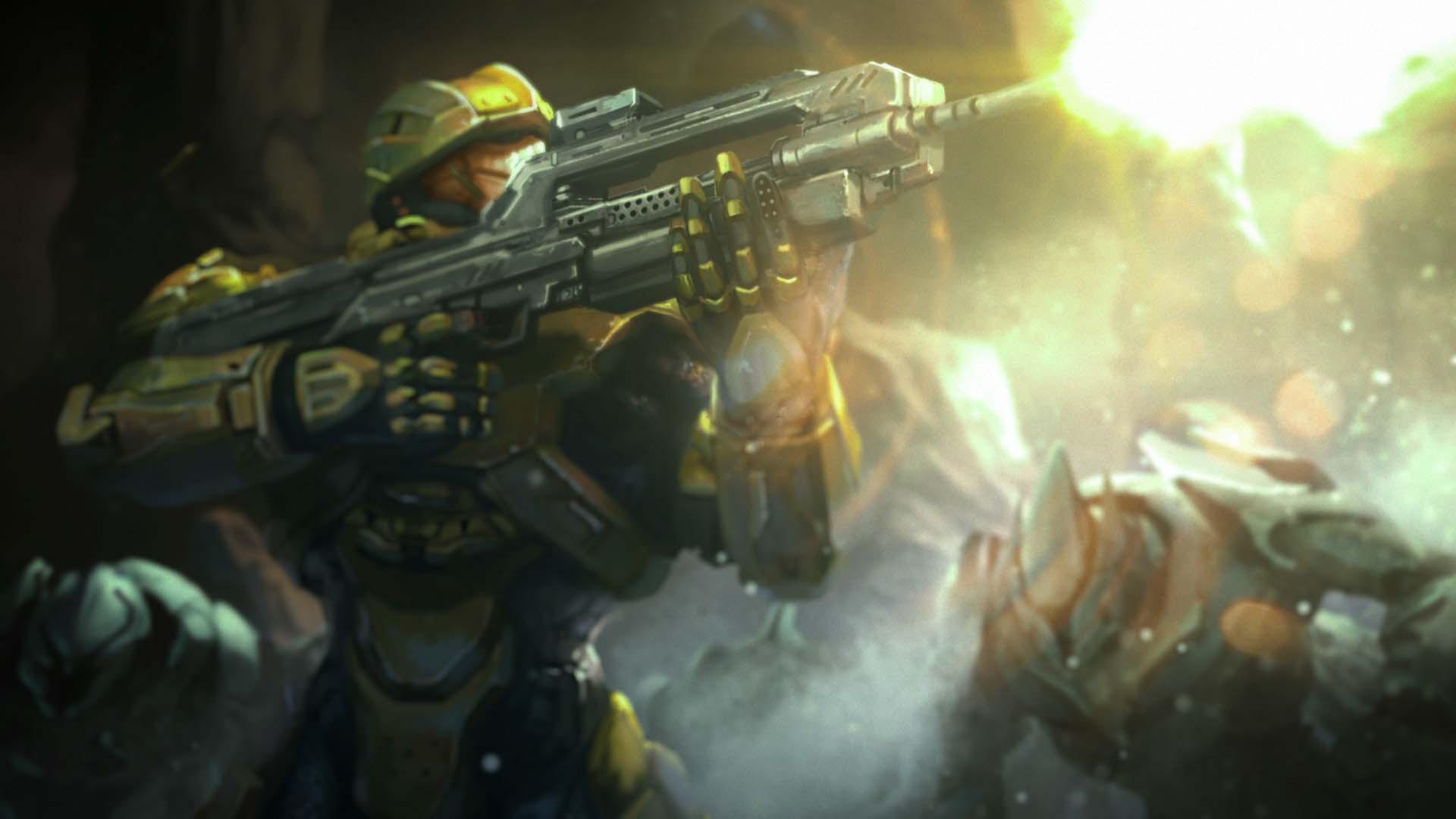 Res: 1920x1080, Halo: Spartan Assault HD Wallpaper 14 - 1920 X 1080