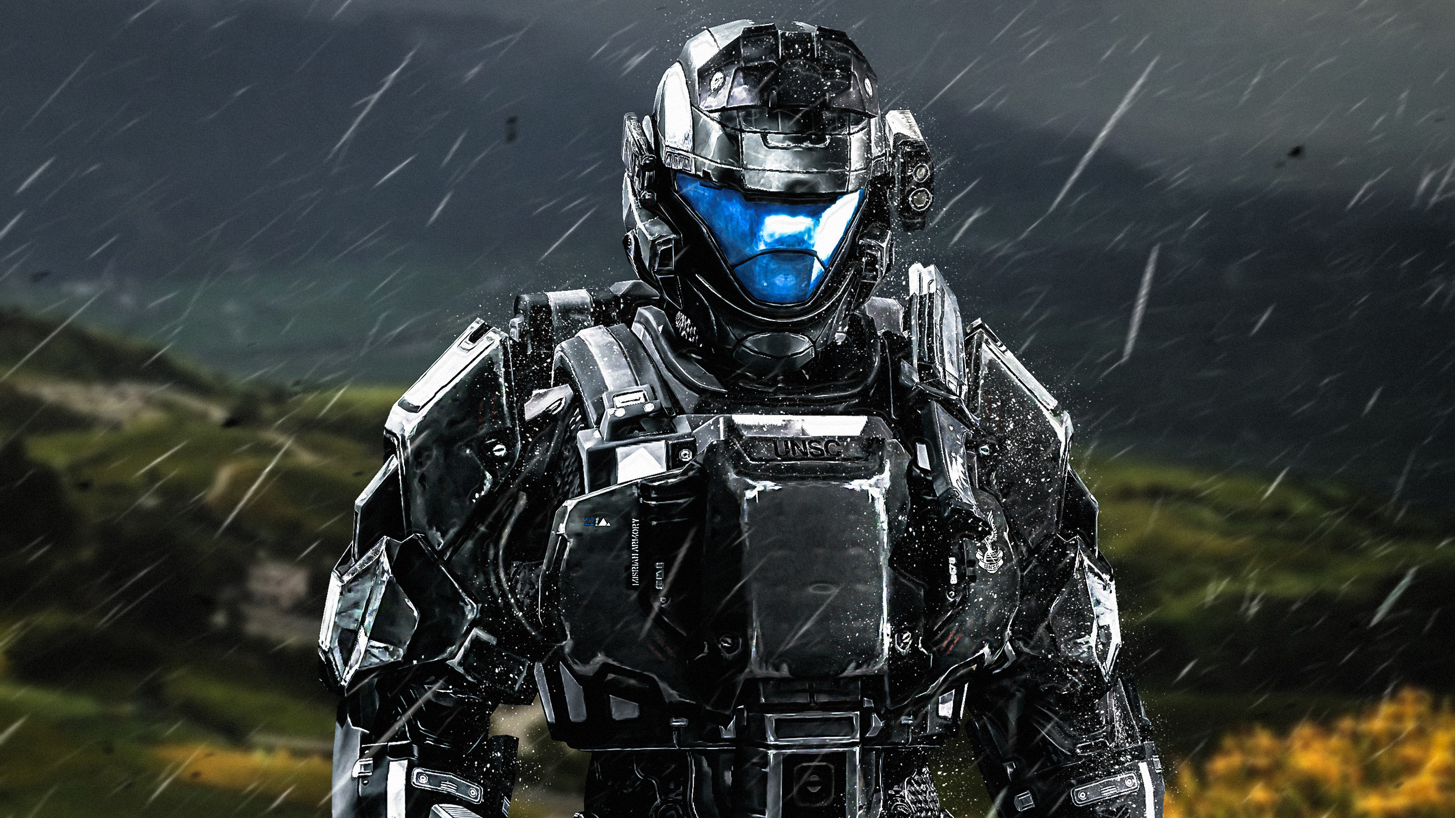 Res: 2880x1620, Halo 3 ODST Spartan Soldier Wallpapers. Â«Â«