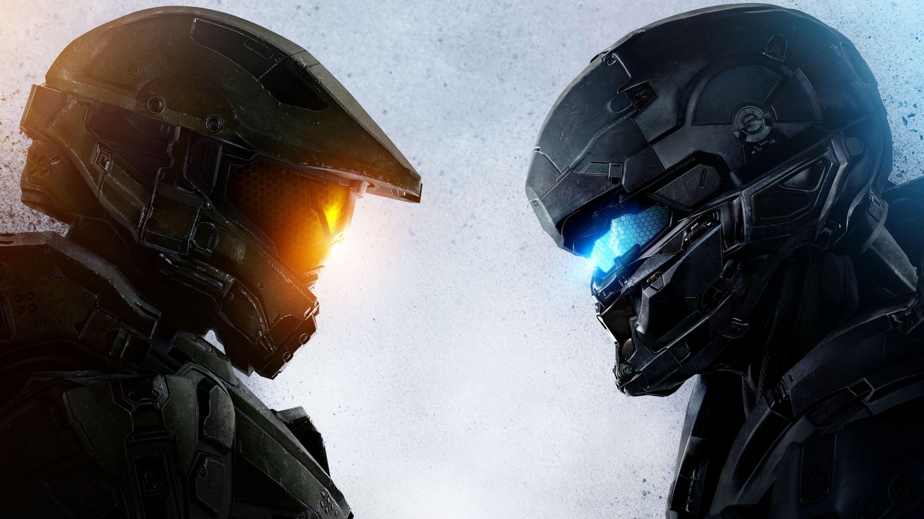 Res: 3840x2160, #Master Chief, #Halo 5, #Halo, #Spartan Locke, #Halo 5: Guardians wallpaper