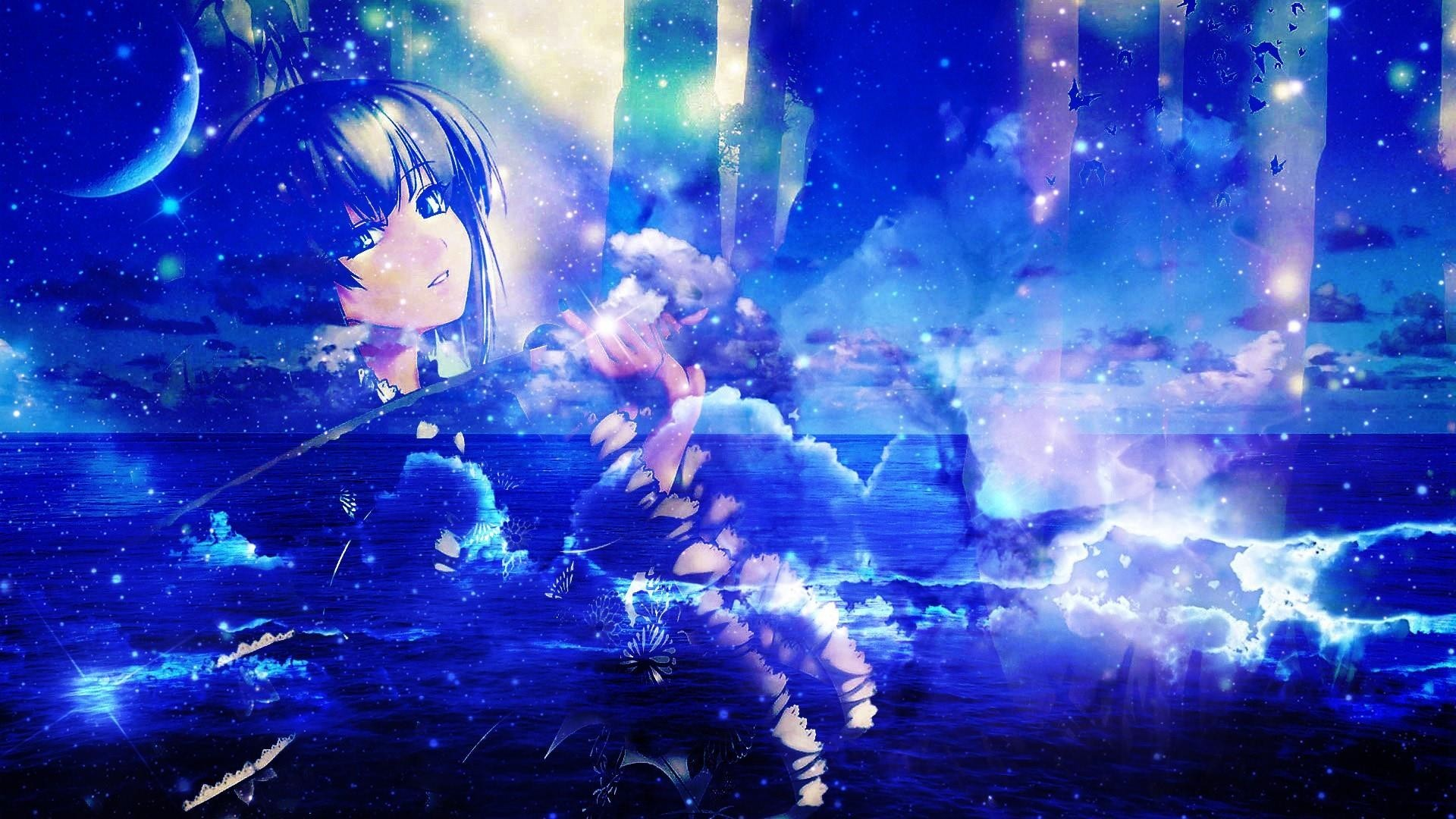 Res: 1920x1080, Res: , Best of Anime Girl Fantasy ...