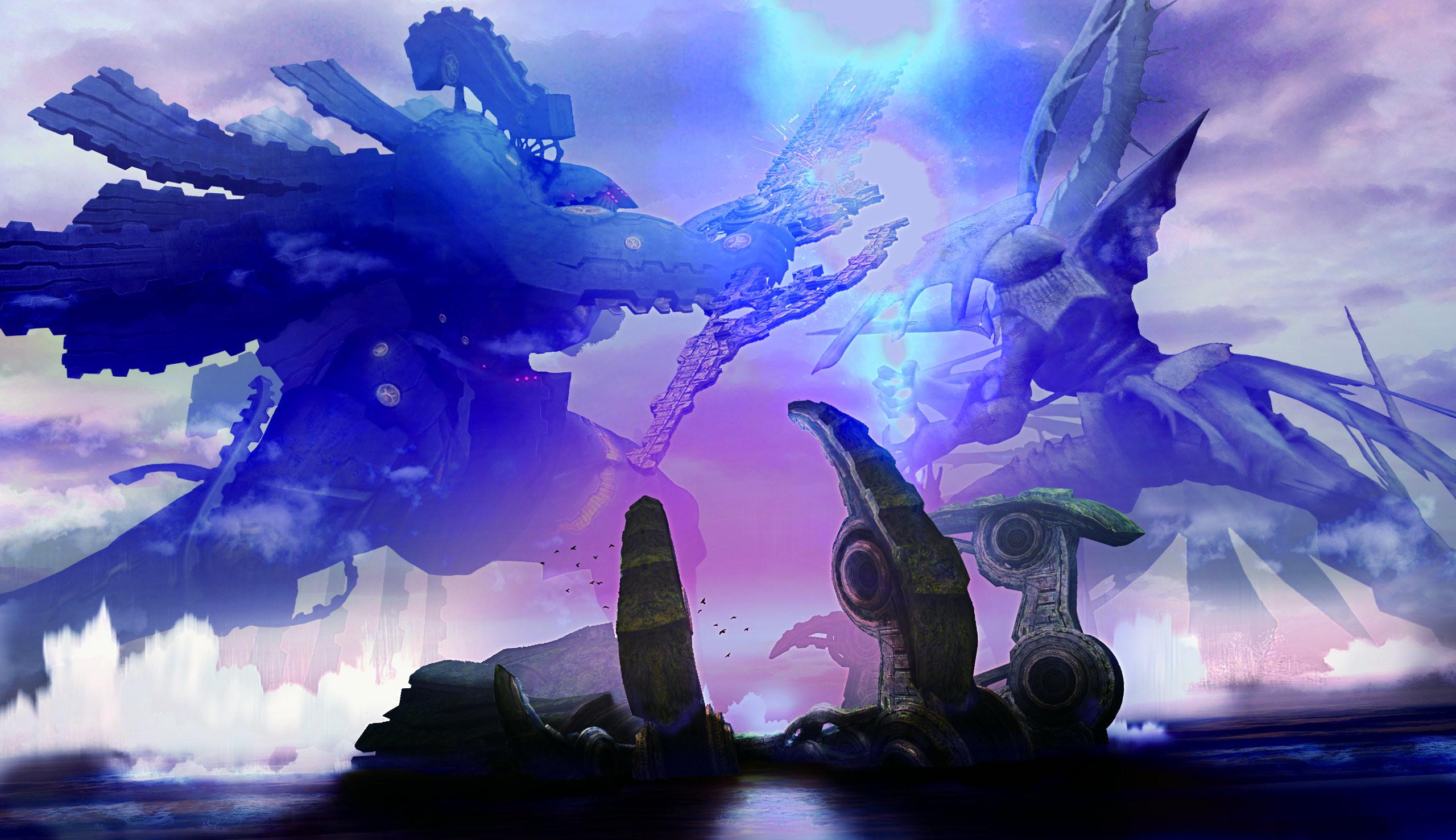 Res: 2560x1478, Xenoblade Chronicles anime fantasy monster mecha sci-fi battle g wallpaper  |  | 152247 | WallpaperUP