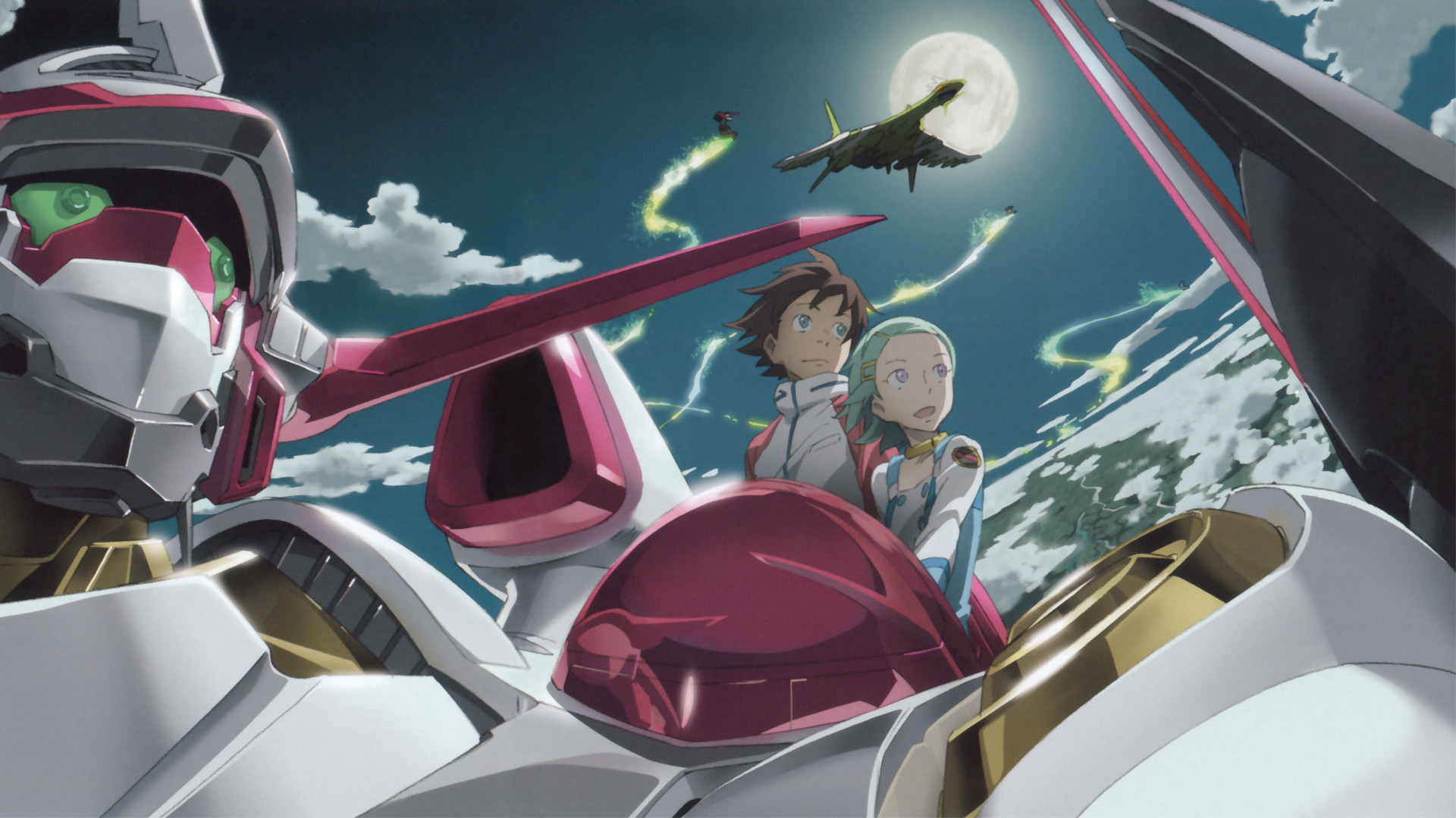 Res: 1920x1080, Eureka Seven Wallpapers