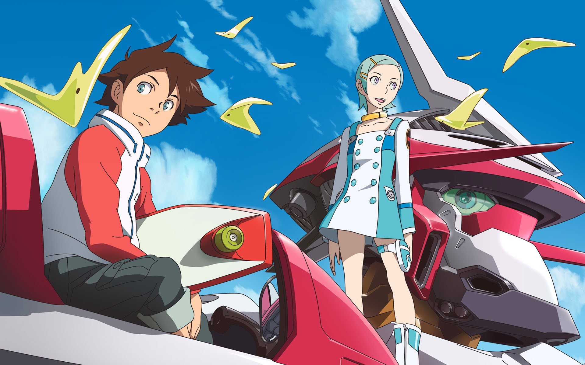 Res: 1920x1200, HD Wallpaper | Background Image ID:125910.  Anime Eureka Seven