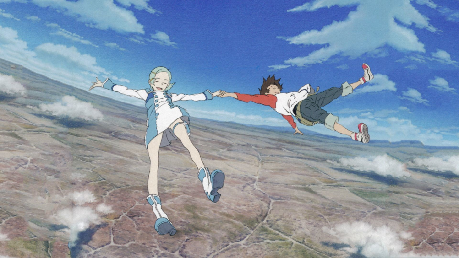 Res: 1920x1080, Eureka Seven Wallpaper // Renton and Eureka