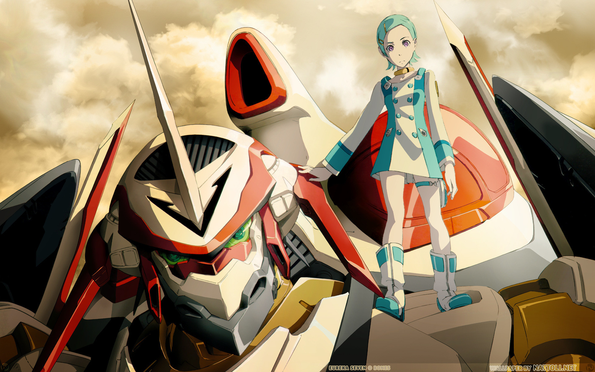 Res: 1920x1200, Eureka Seven Wallpapers
