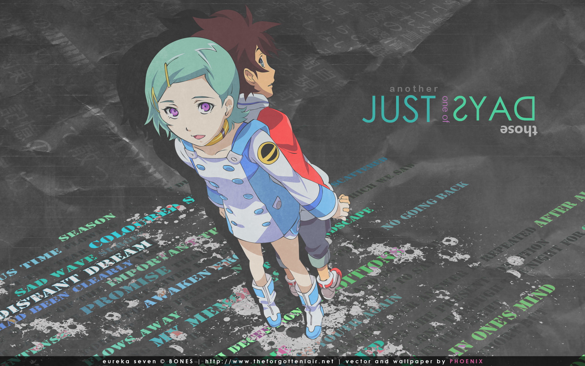 Res: 1920x1200, Eureka 7 Wallpaper: Just Another One Of Those Days