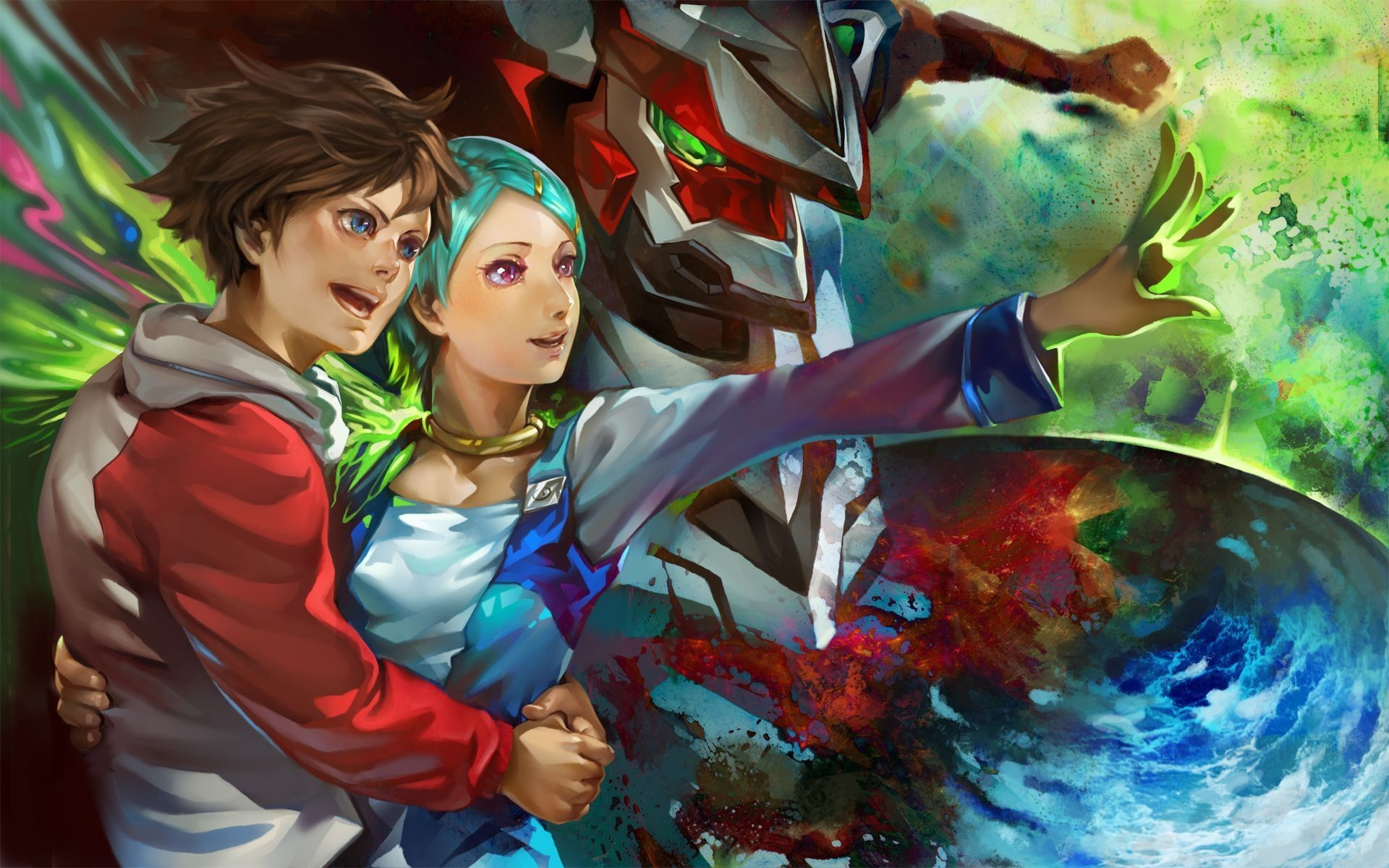 Res: 1920x1200, eureka-seven-wallpaper
