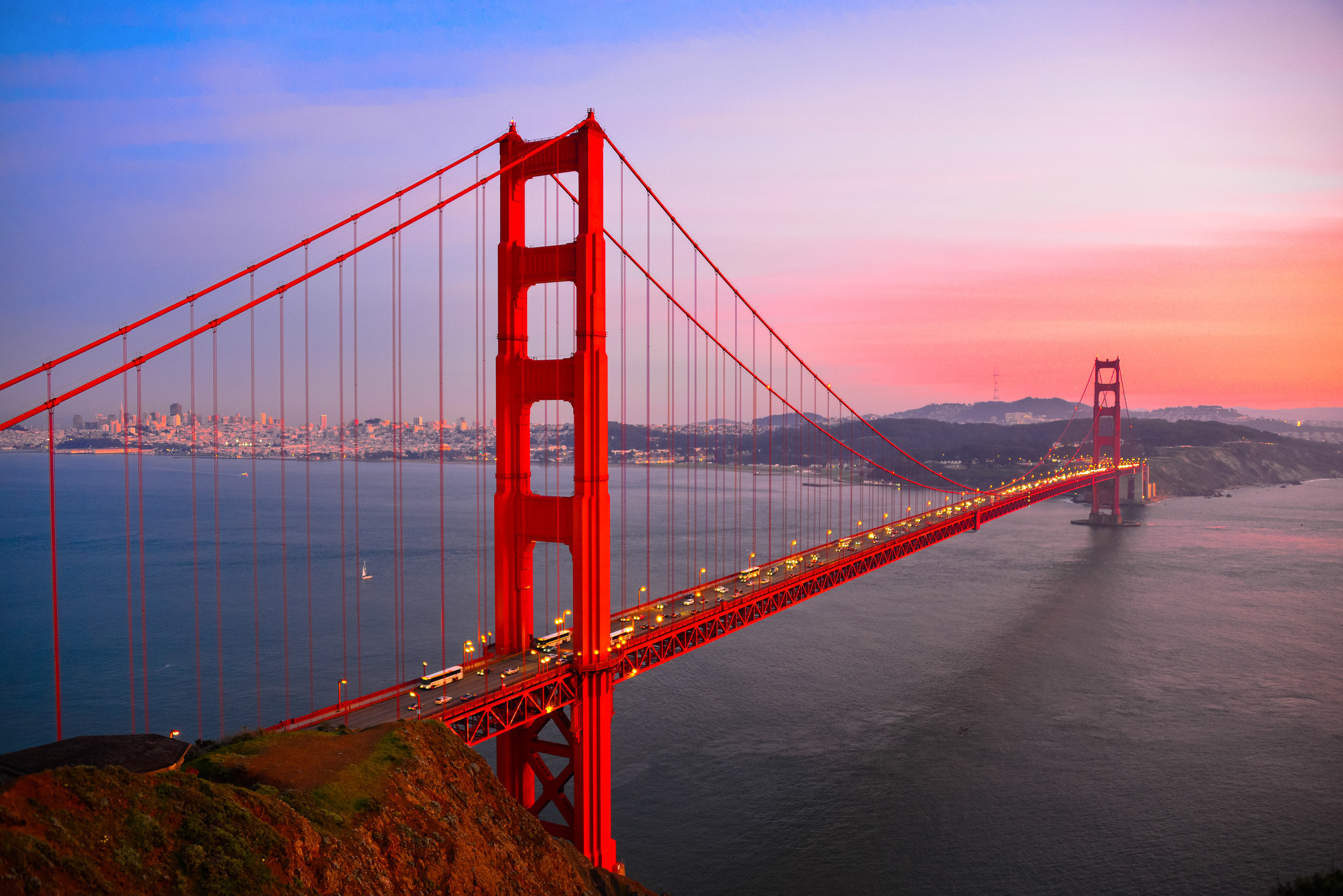 Res: 2048x1367, HD Wallpaper | Background Image ID:418009.  Man Made Golden Gate