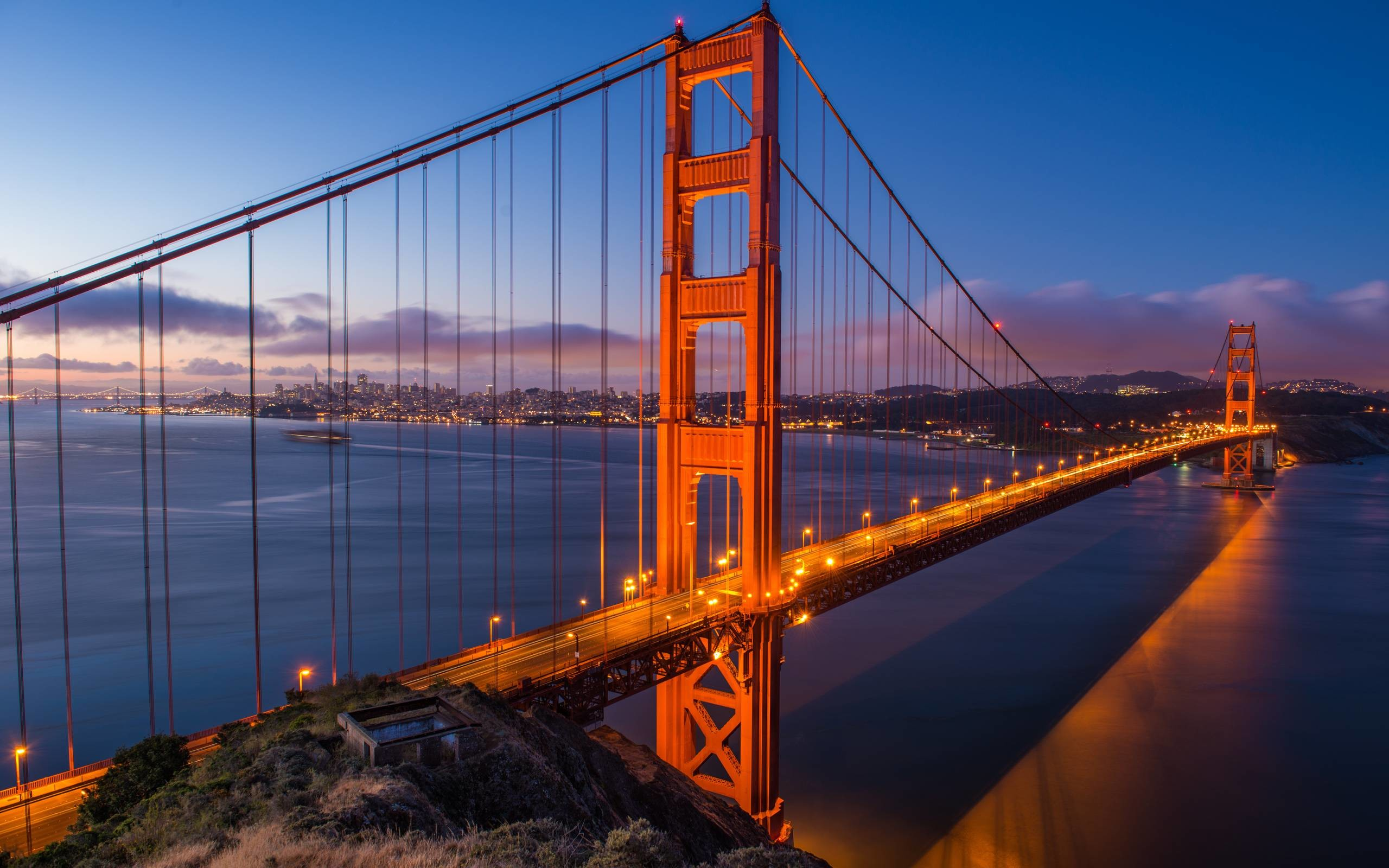 Res: 2560x1600, Golden Gate Computer Wallpapers, Desktop Backgrounds  Id ..