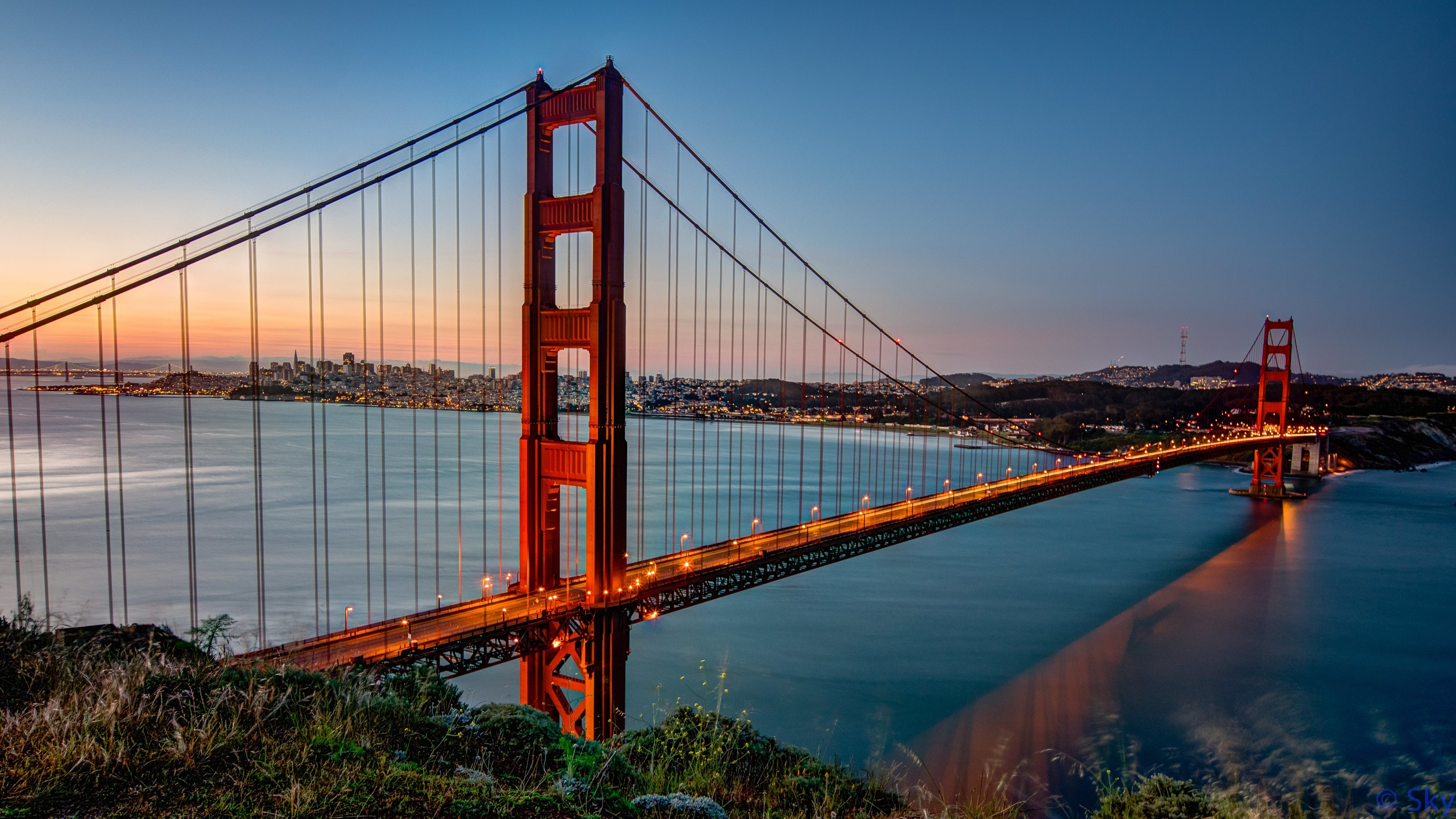 Res: 3840x2160, Golden Gate 4k Ultra HD Wallpaper | Background Image |  |  ID:549228 - Wallpaper Abyss