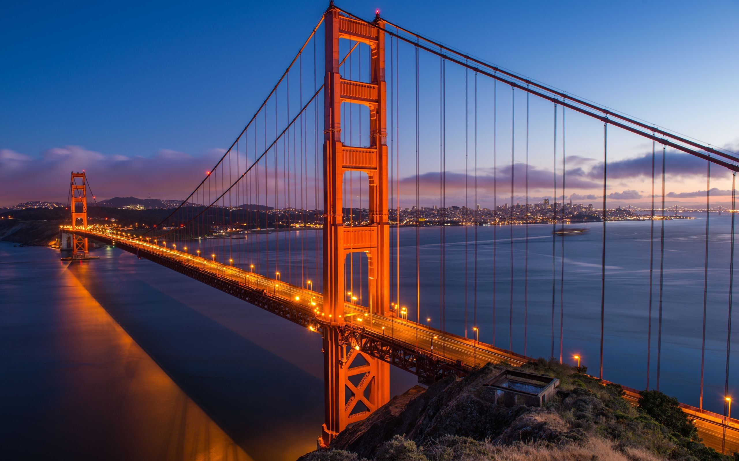 Res: 2560x1600, ... Golden Gate Bridge HD Wallpaper
