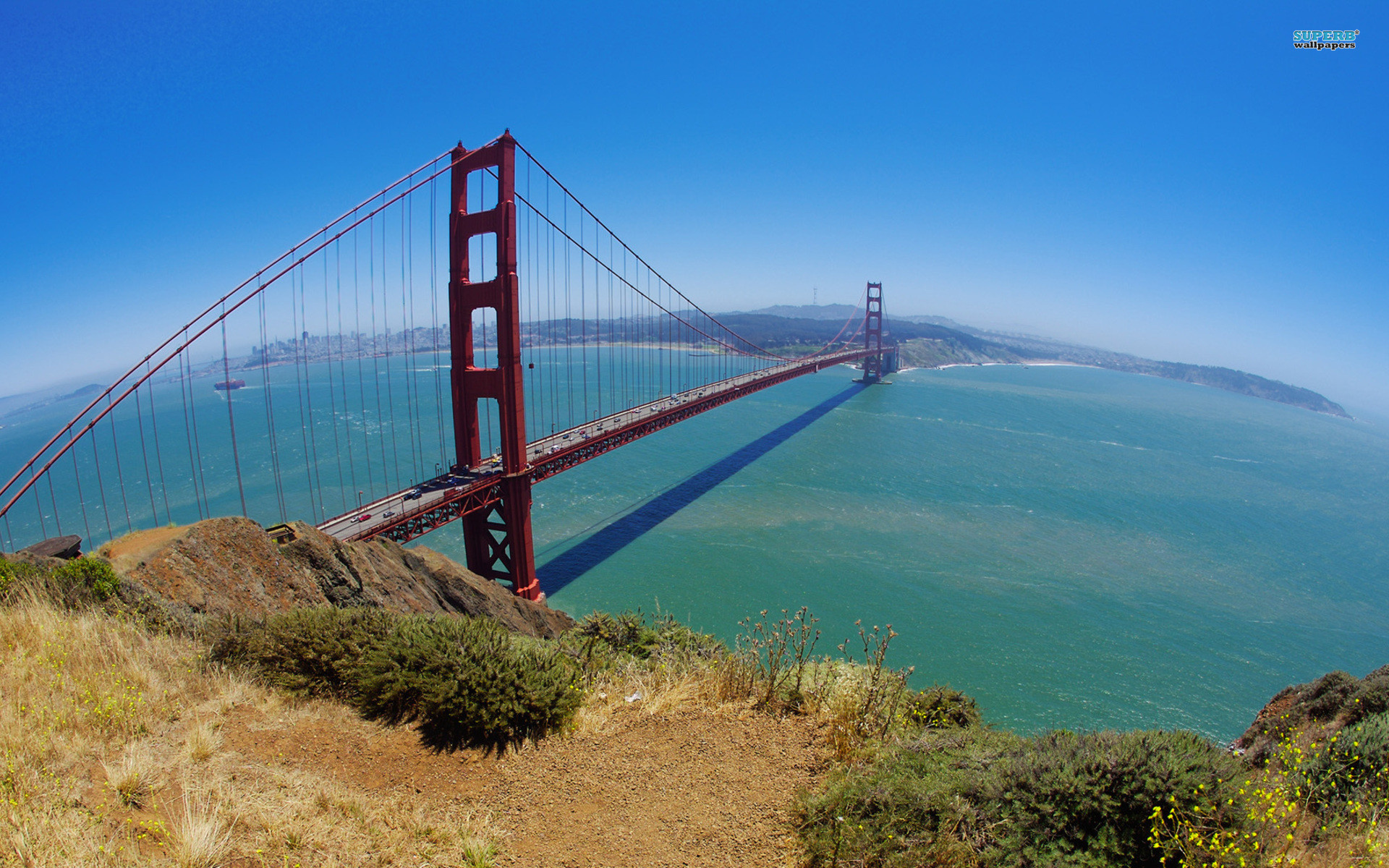 Res: 1920x1200, Bild: Golden Gate Bridge wallpapers and stock photos. Â«