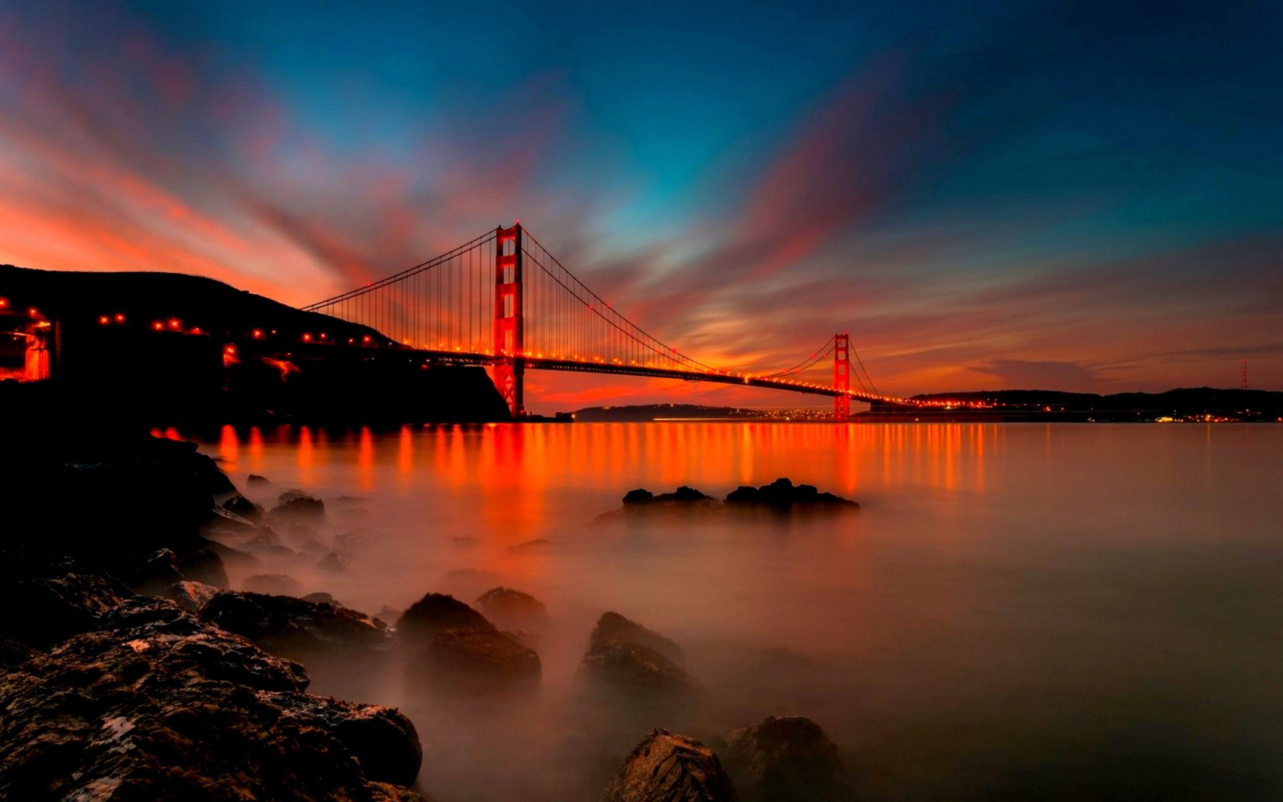Res: 2560x1600, HD Wallpaper | Background Image ID:372072.  Man Made Golden Gate
