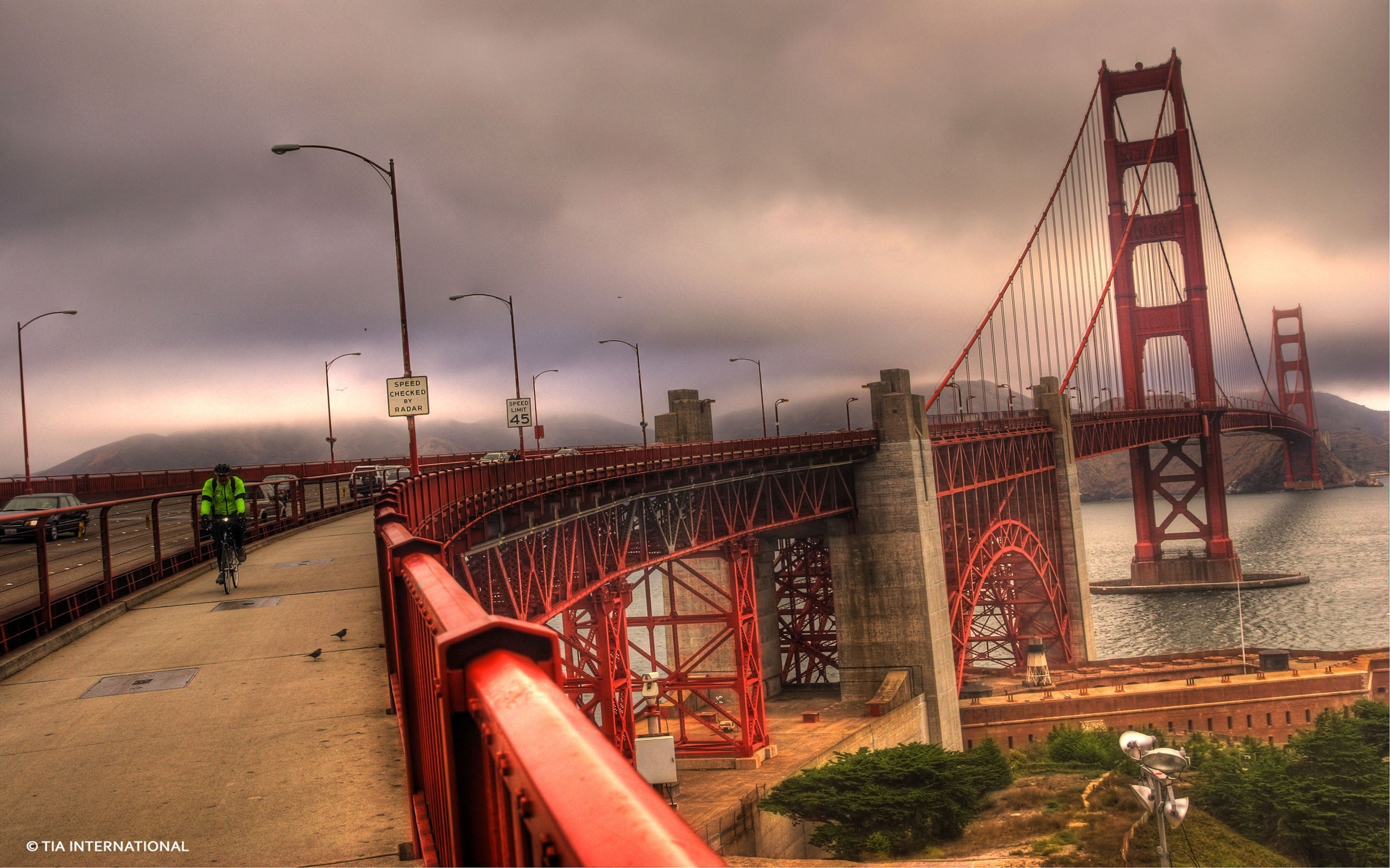 Res: 2560x1600, Golden gate bridge san francisco bridges sea wallpaper