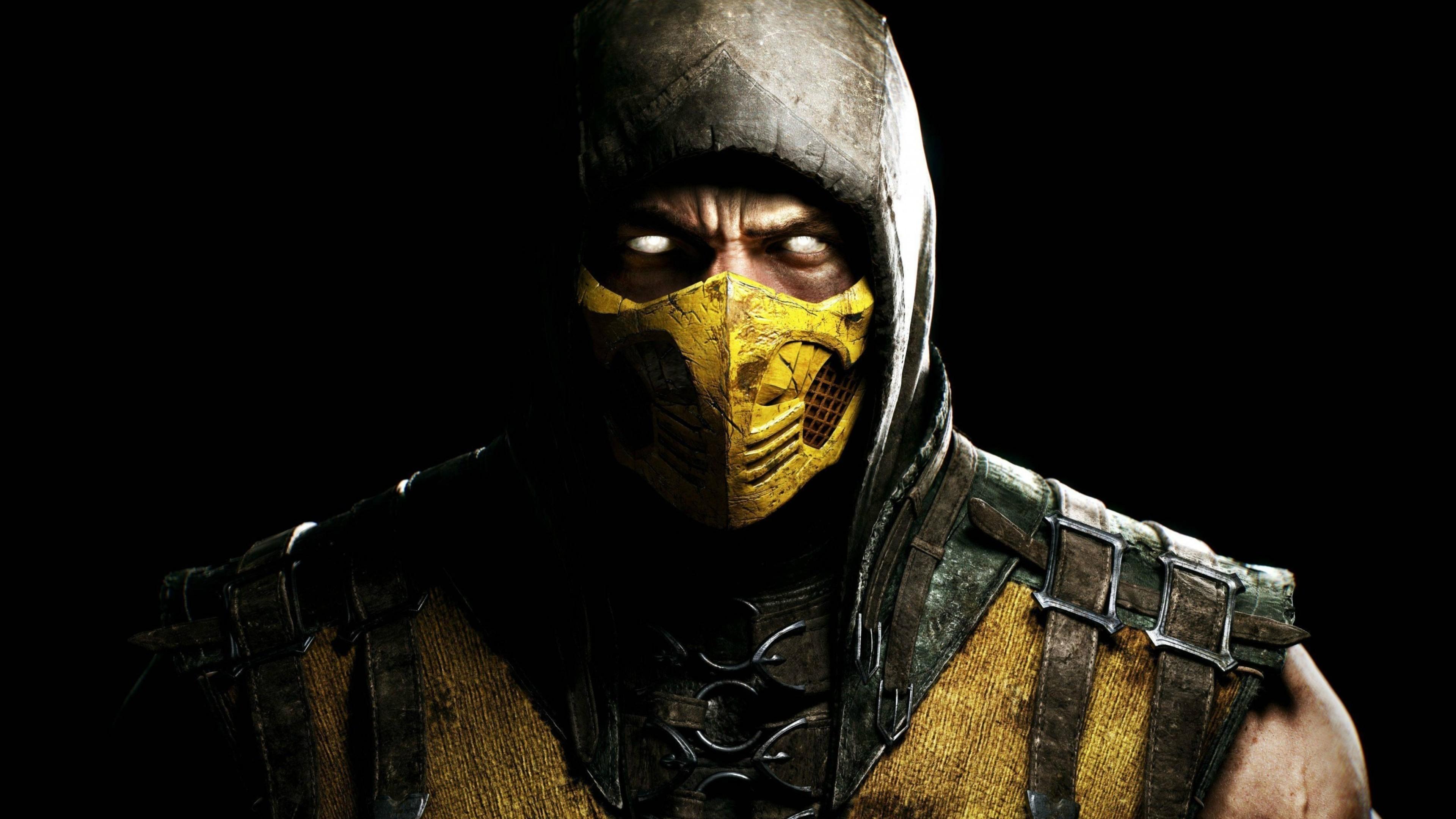 Res: 3840x2160, Scorpion In Mortal Kombat (2048x1152 Resolution)