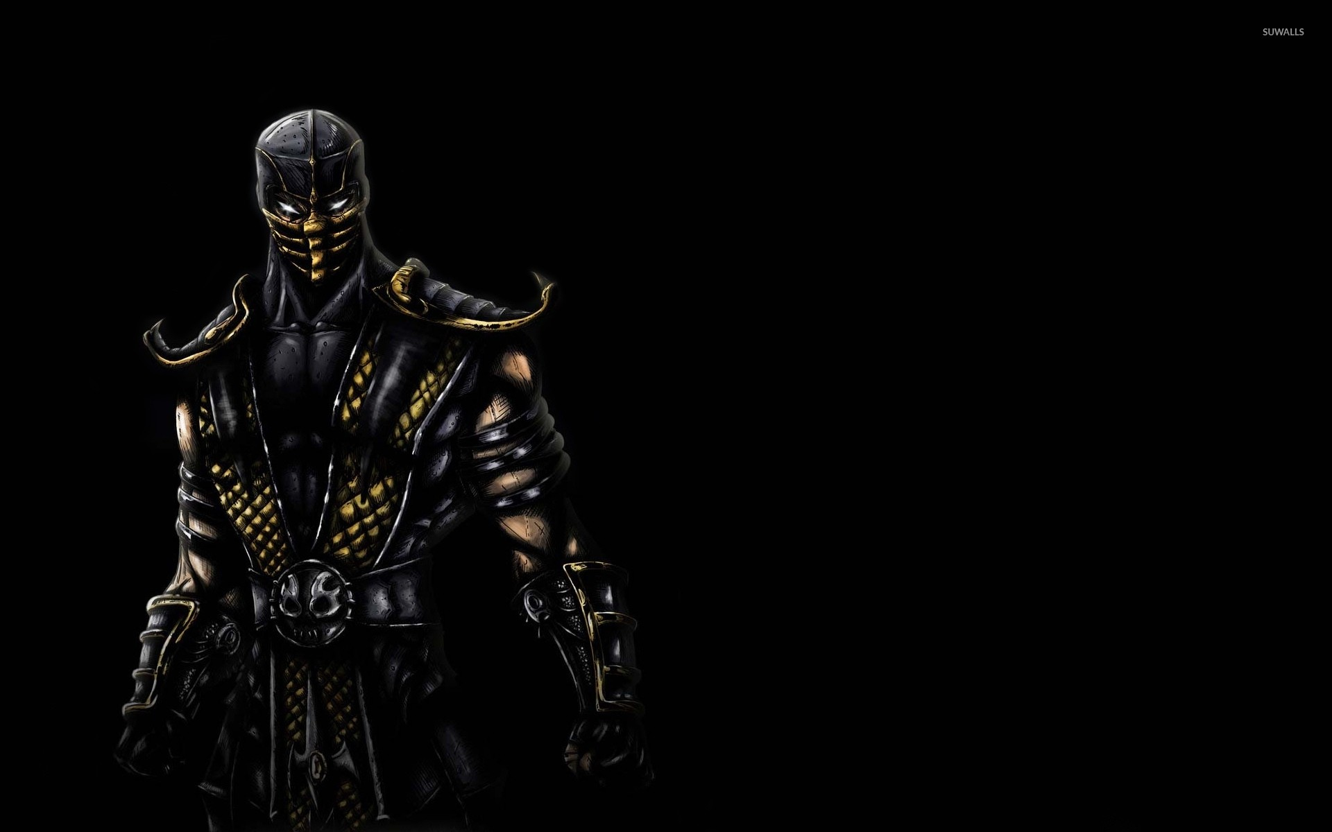 Res: 1920x1200, Scorpion - Mortal Kombat [2] wallpaper