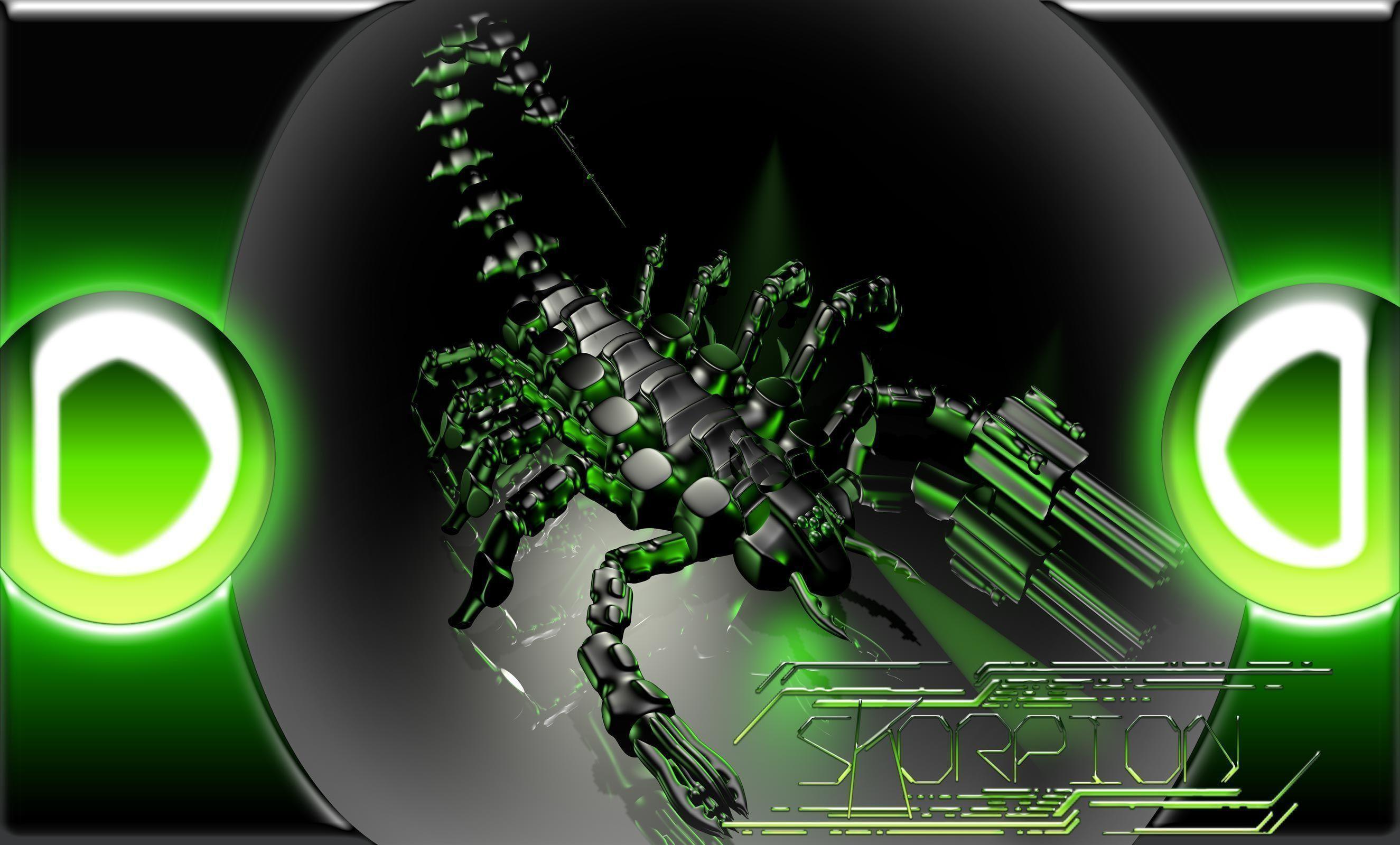 Res: 2650x1600, cyber scorpion Computer Wallpapers, Desktop Backgrounds  .