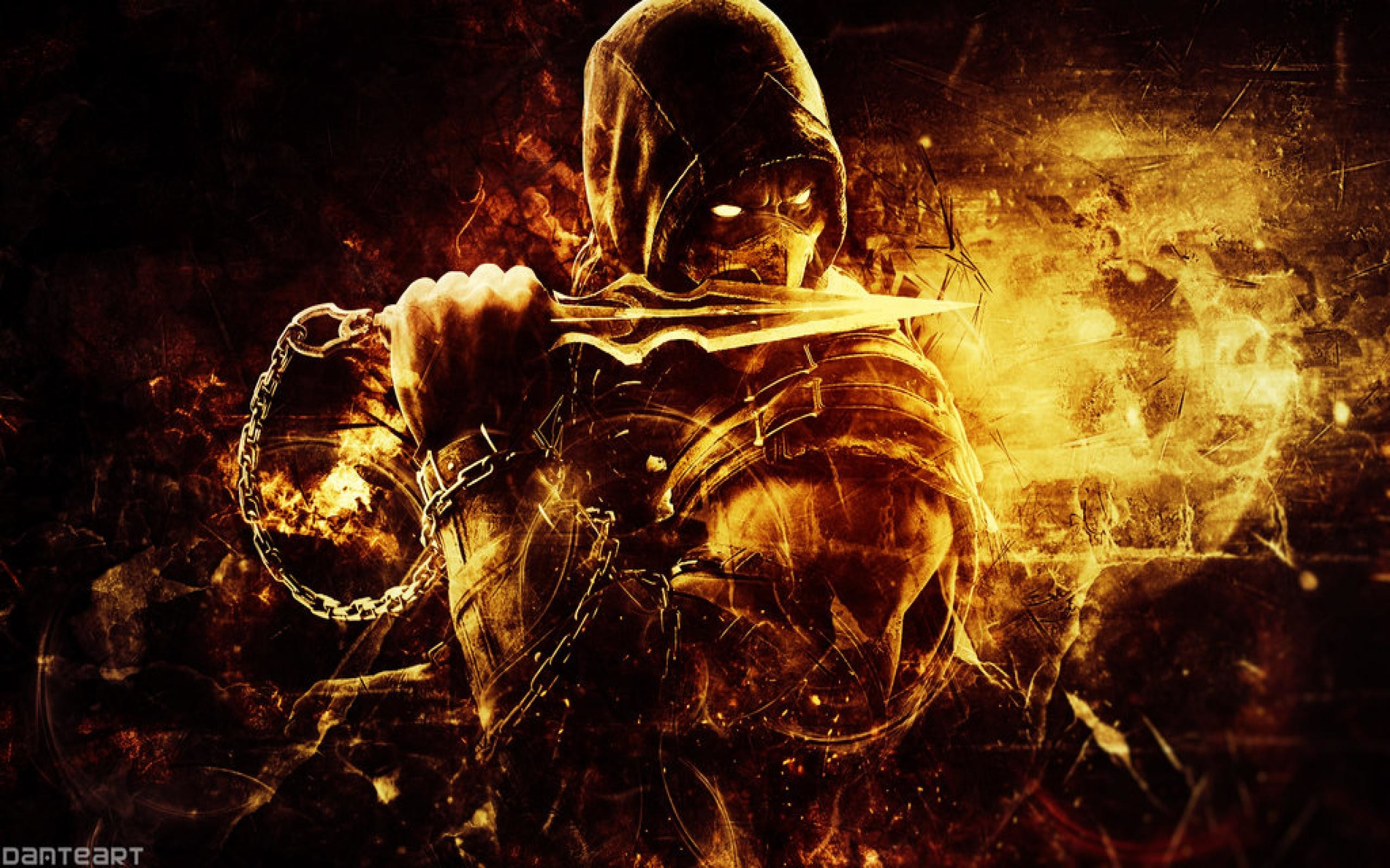 Res: 2560x1600, Scorpion Wallpapers