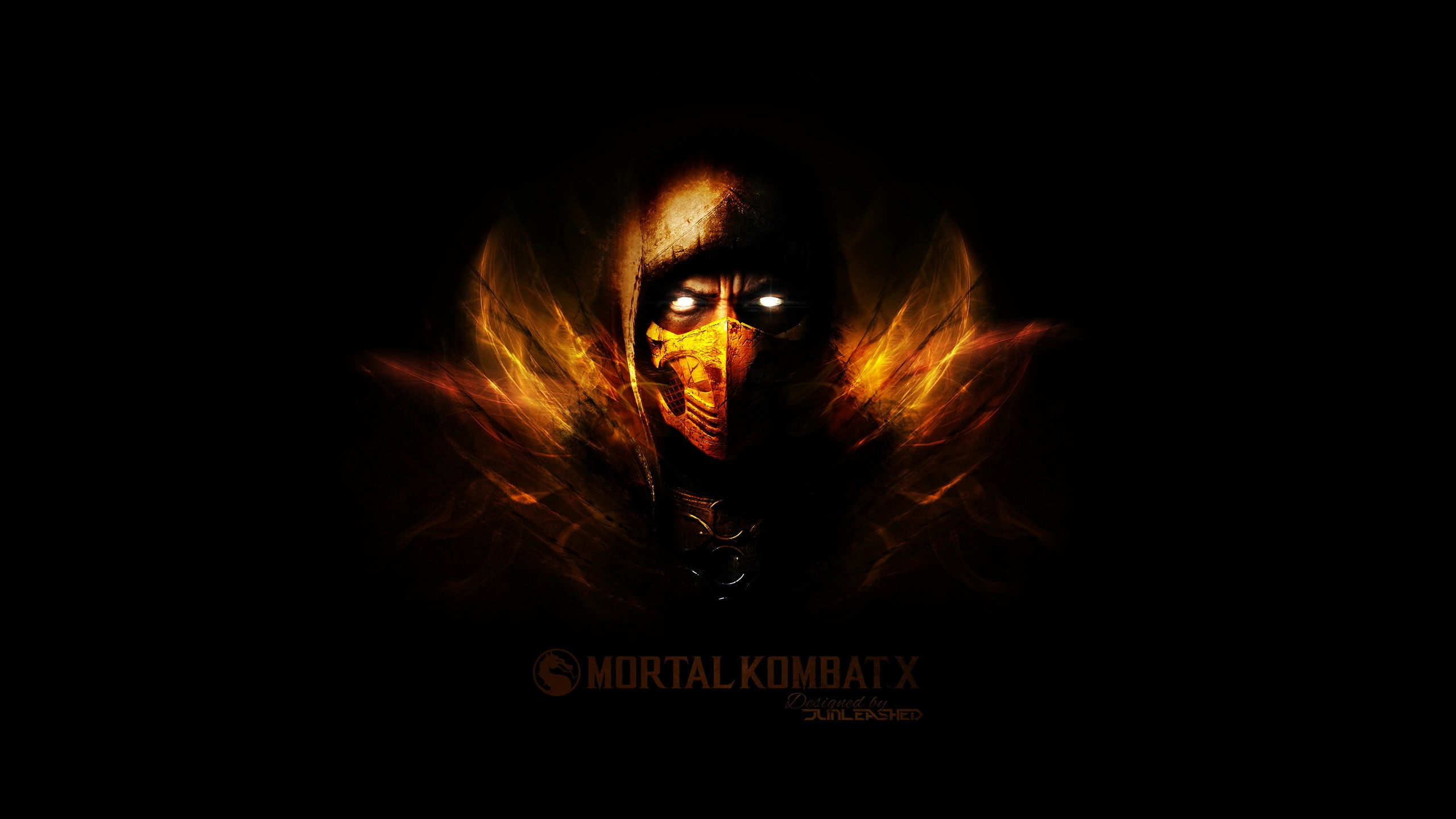 Res: 2560x1440, 1920x1080 Mortal Kombat Scorpion Wallpapers HD