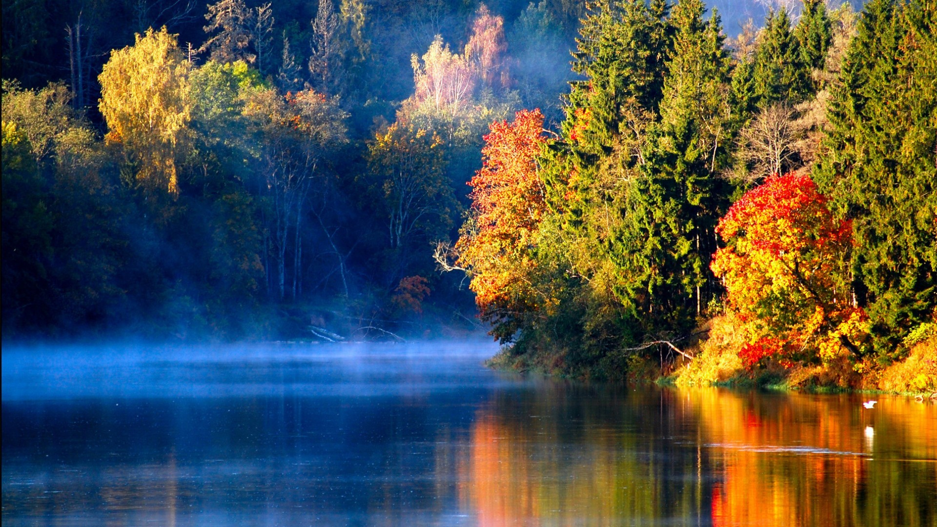 Res: 1920x1080, River Nature Wallpapers HD Pictures