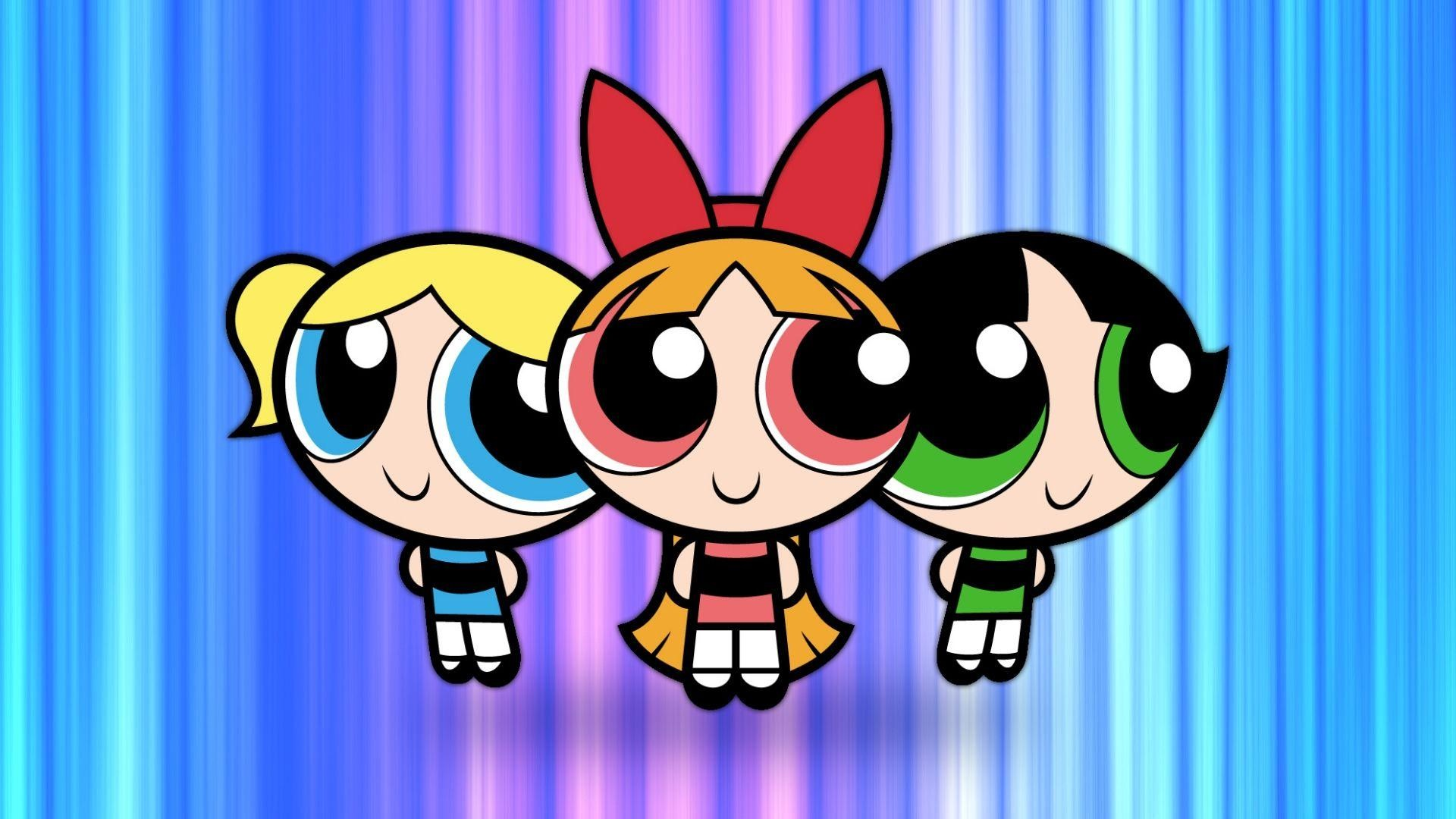 Res: 1920x1080, Powerpuff Girls Blossom and Bubbles - wallpaper.