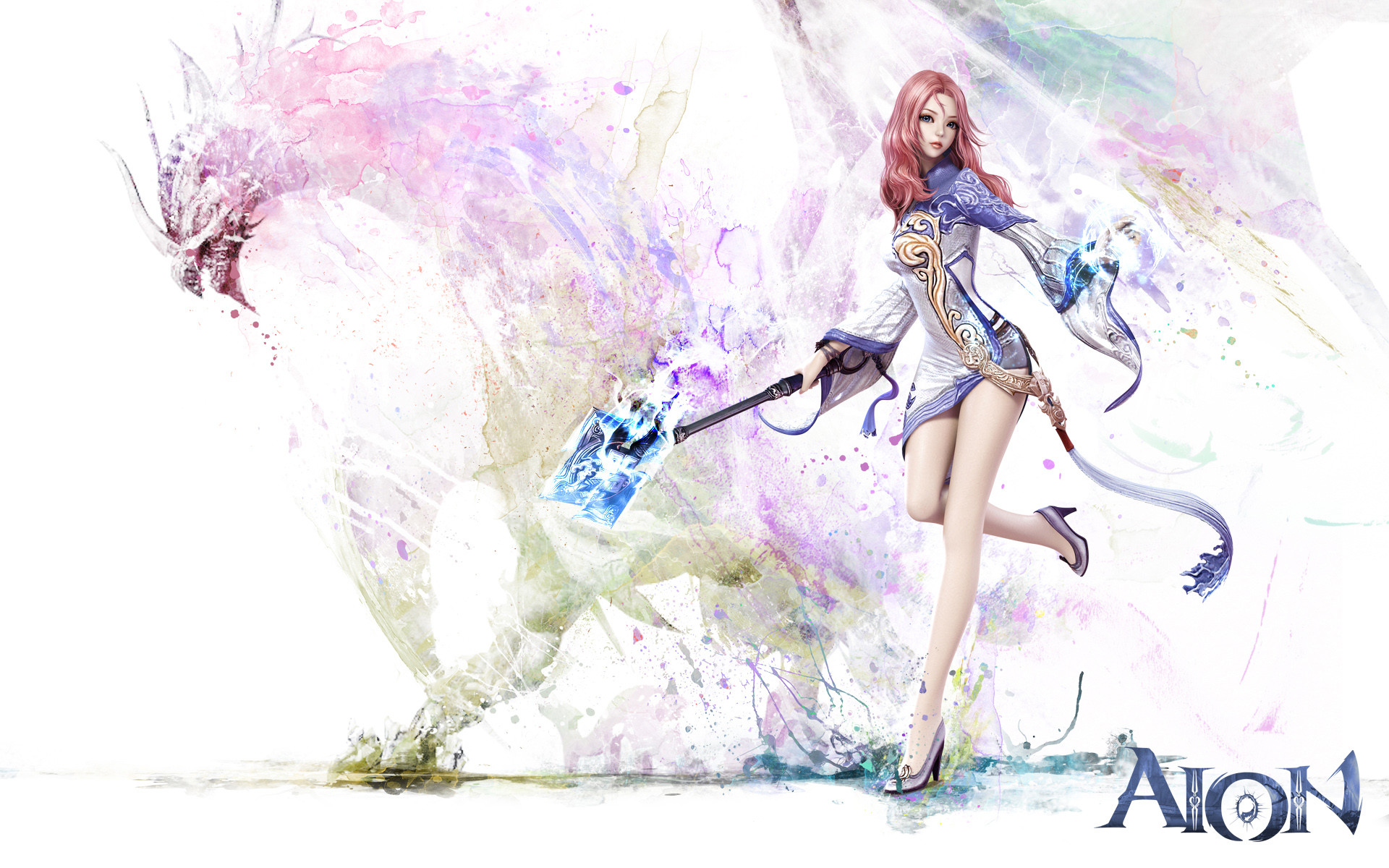 Res: 1920x1200, Aion Game Girl Wallpapers HD Wallpapers