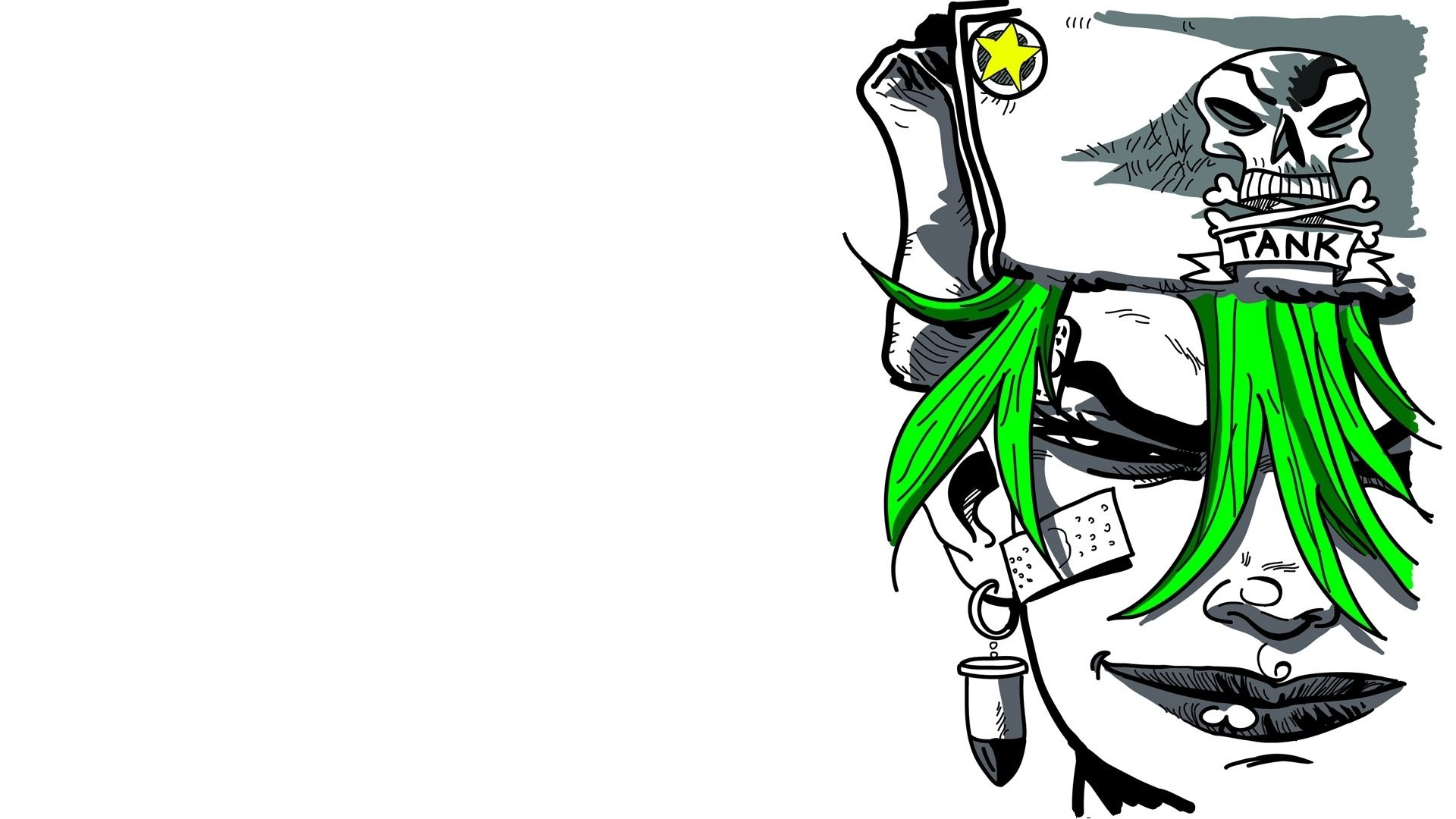 Res: 1920x1080,  Tank Girl Wallpapers
