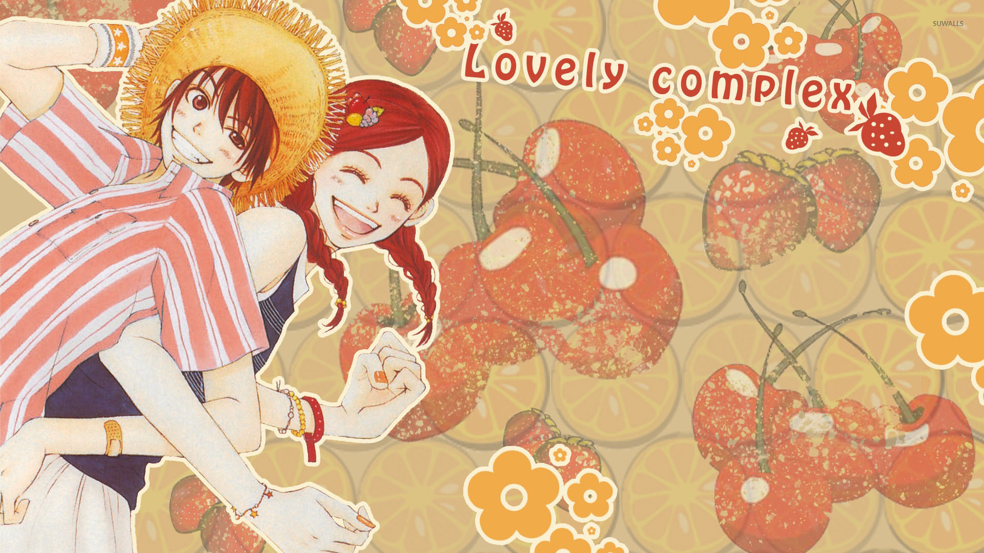 Res: 1920x1080, Monkey D. Luffy and Nami in One Piece wallpaper