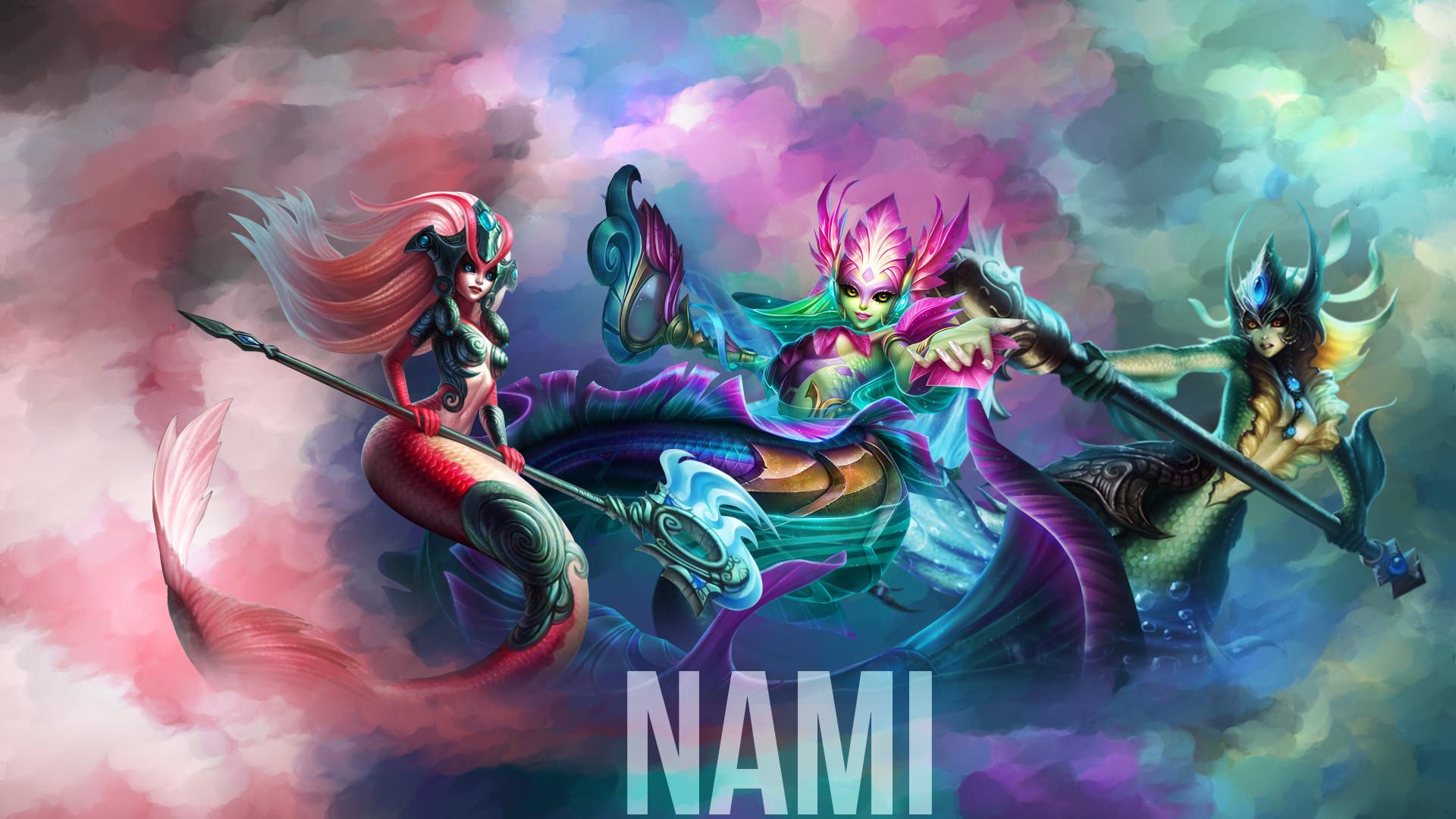 Res: 1920x1080, Nami Skins wallpaper